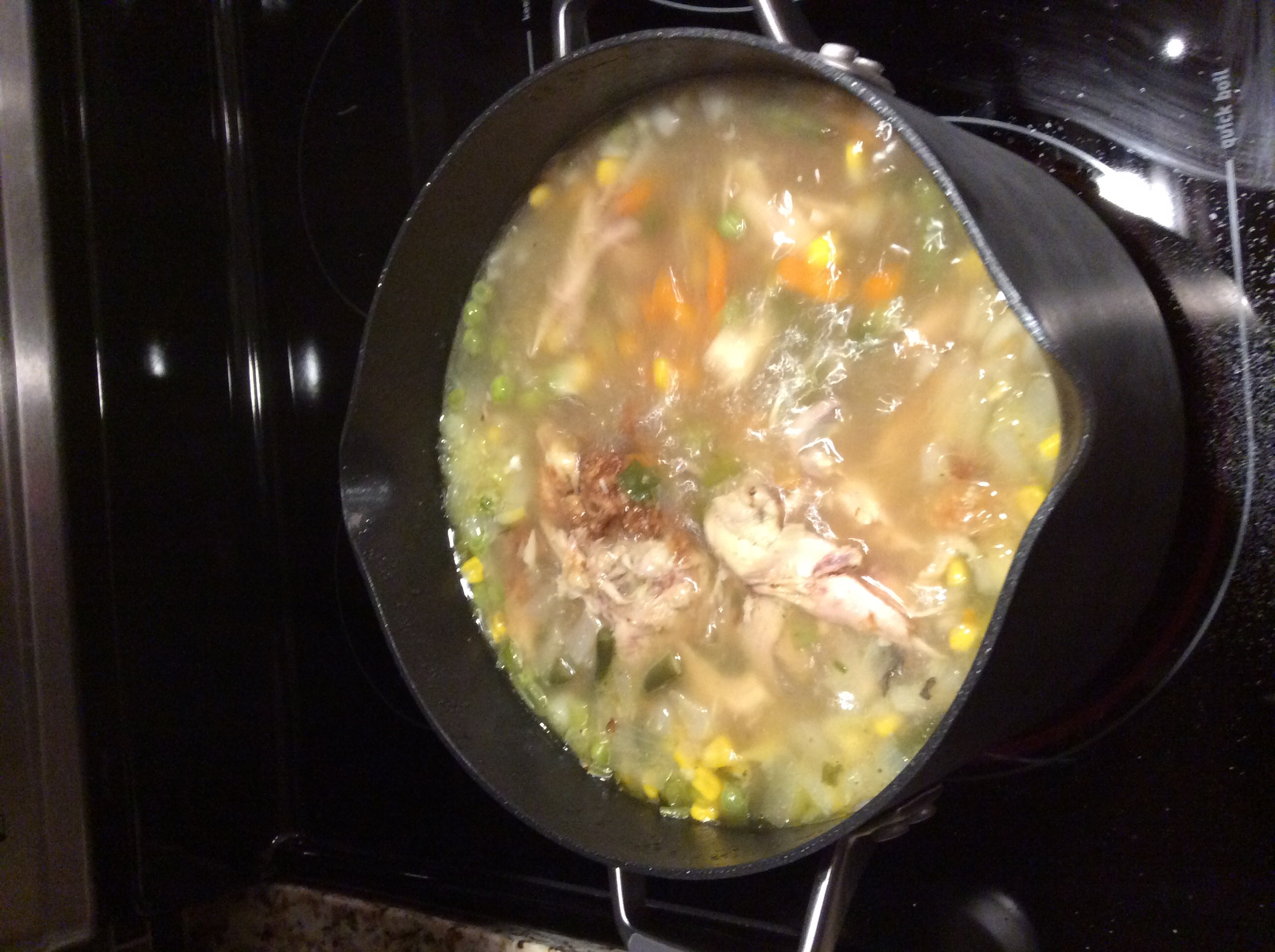 Leftover Roast Chicken Soup Linda Ribaudo-Scribner