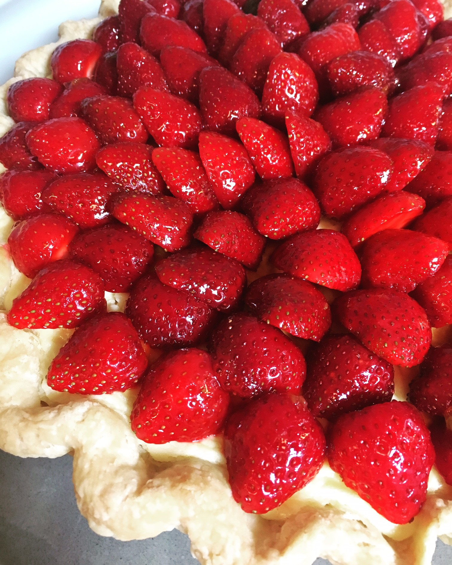 Fresh Strawberry Tart sonjagroset