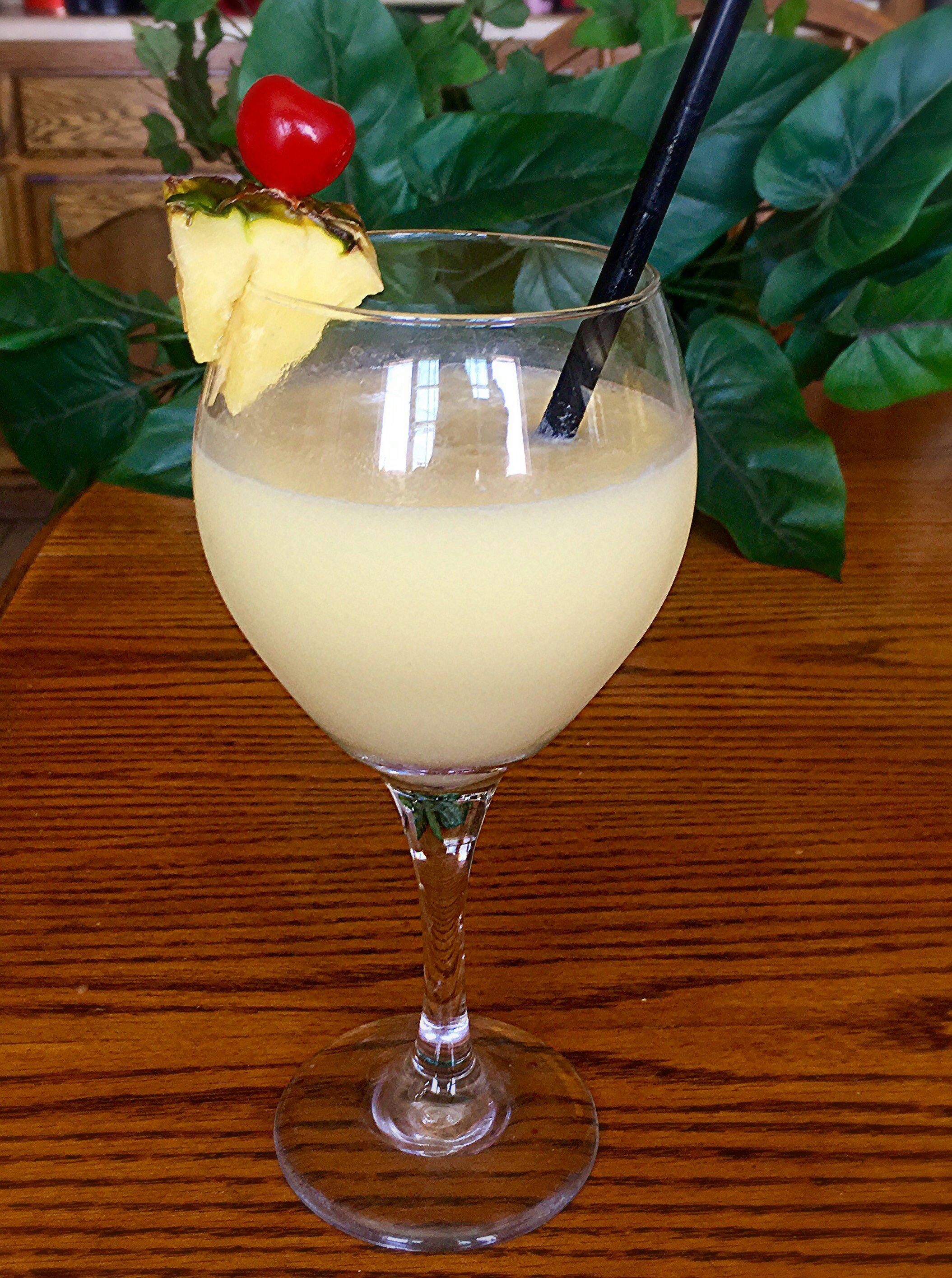 Pina Colada Power Honey Smoothie