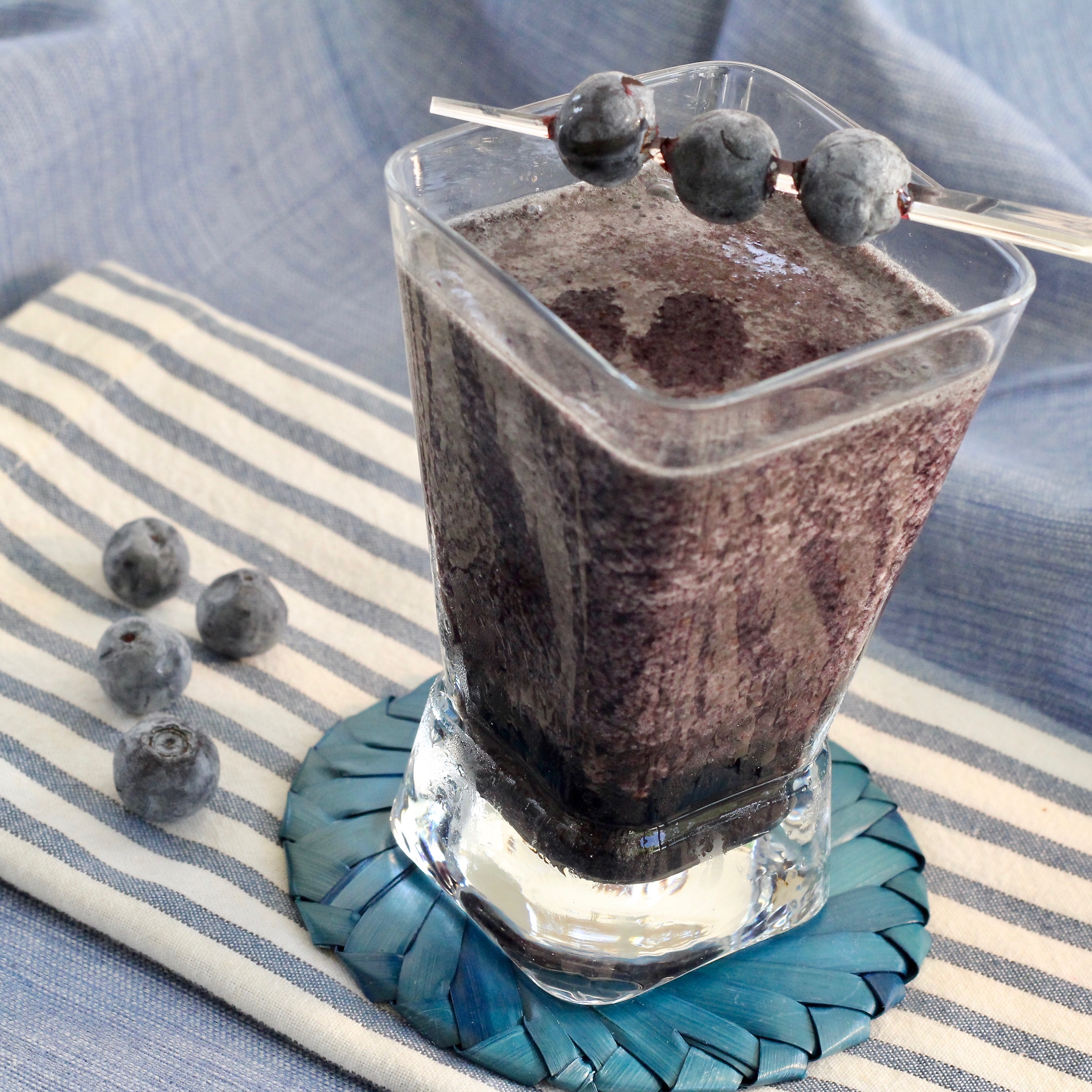Vanilla Blueberry Blended Coffee