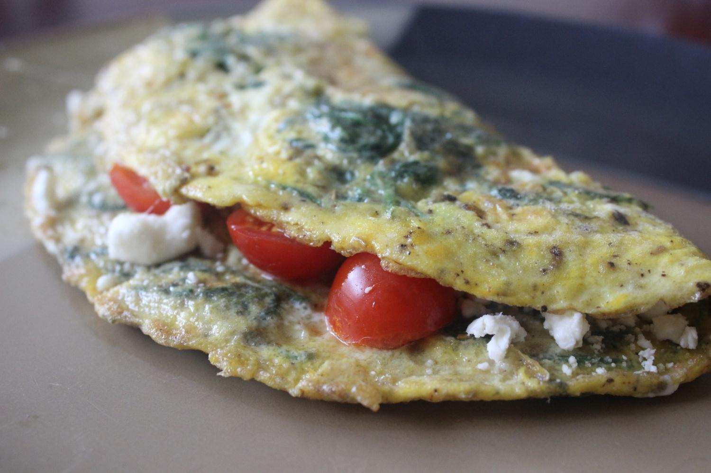 My Big Fat Greek Omelet mommyluvs2cook