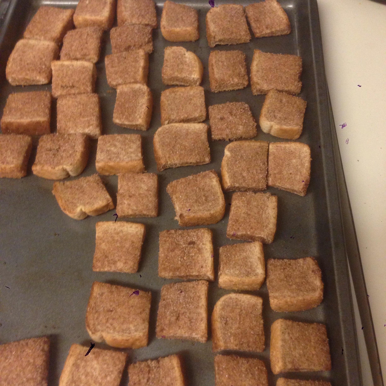 Cinnamon Croutons