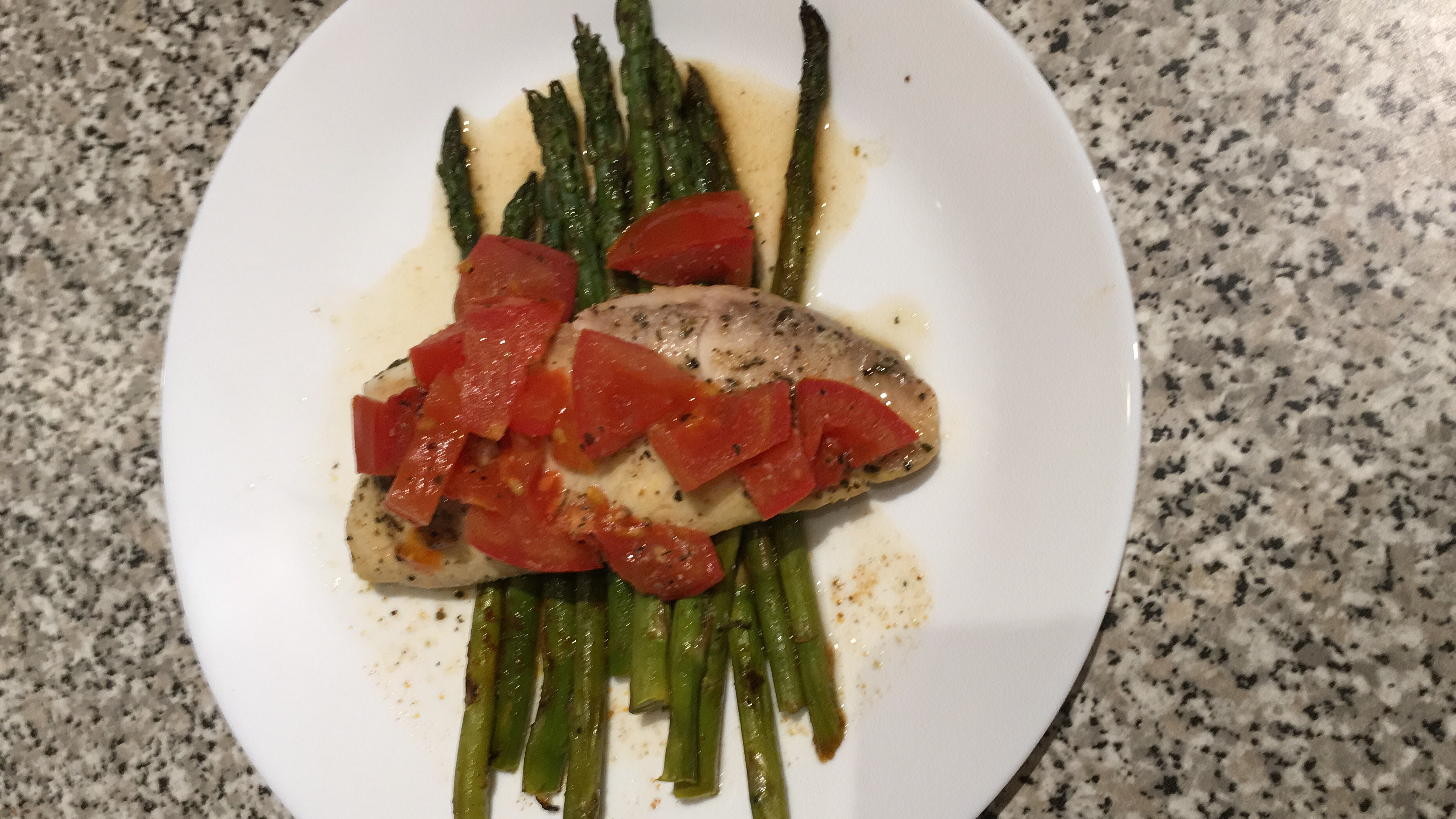 Easy Tilapia with Wine and Tomatoes Barry
