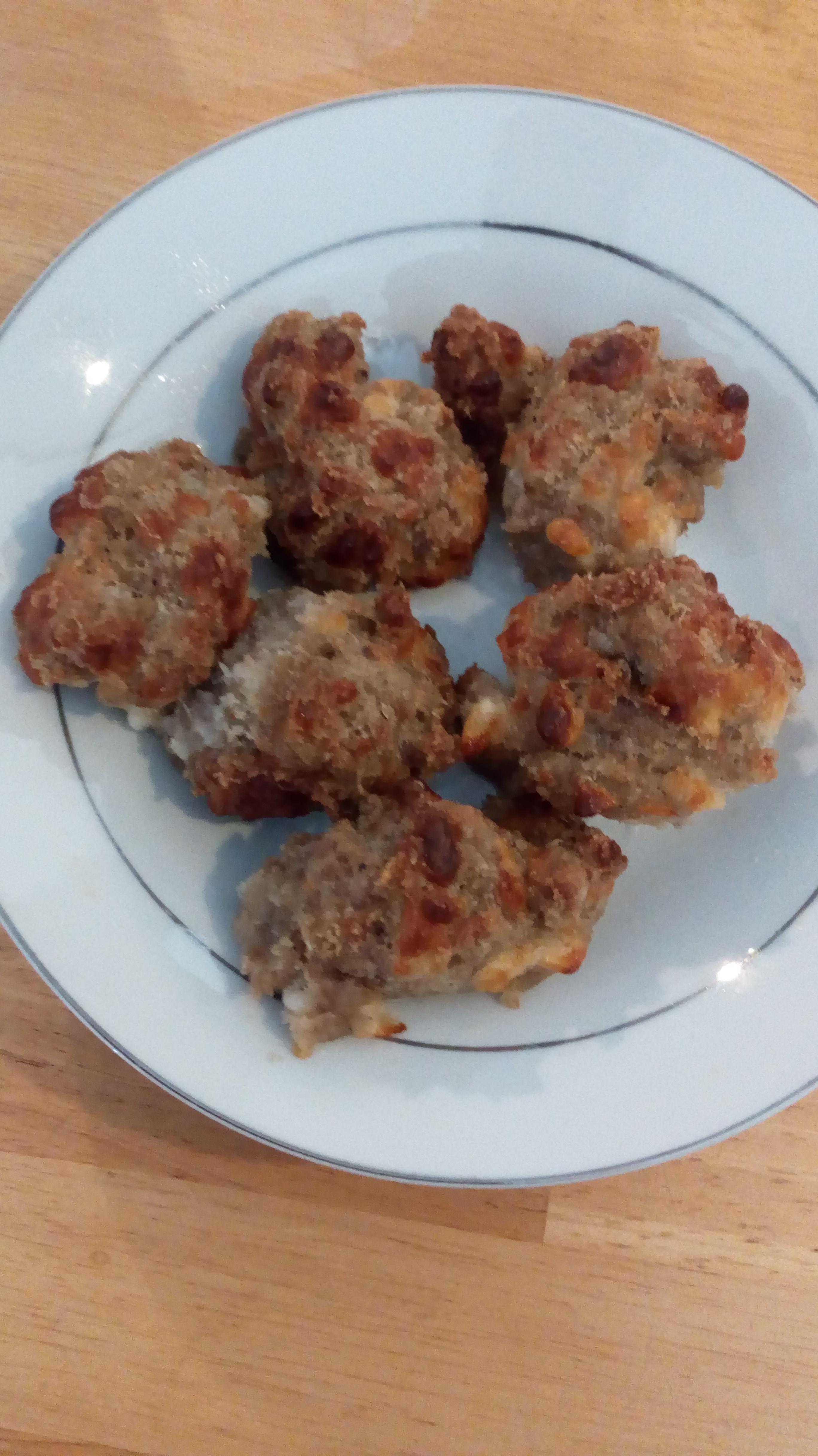 Gluten-Free Sausage Balls Donna Perygin