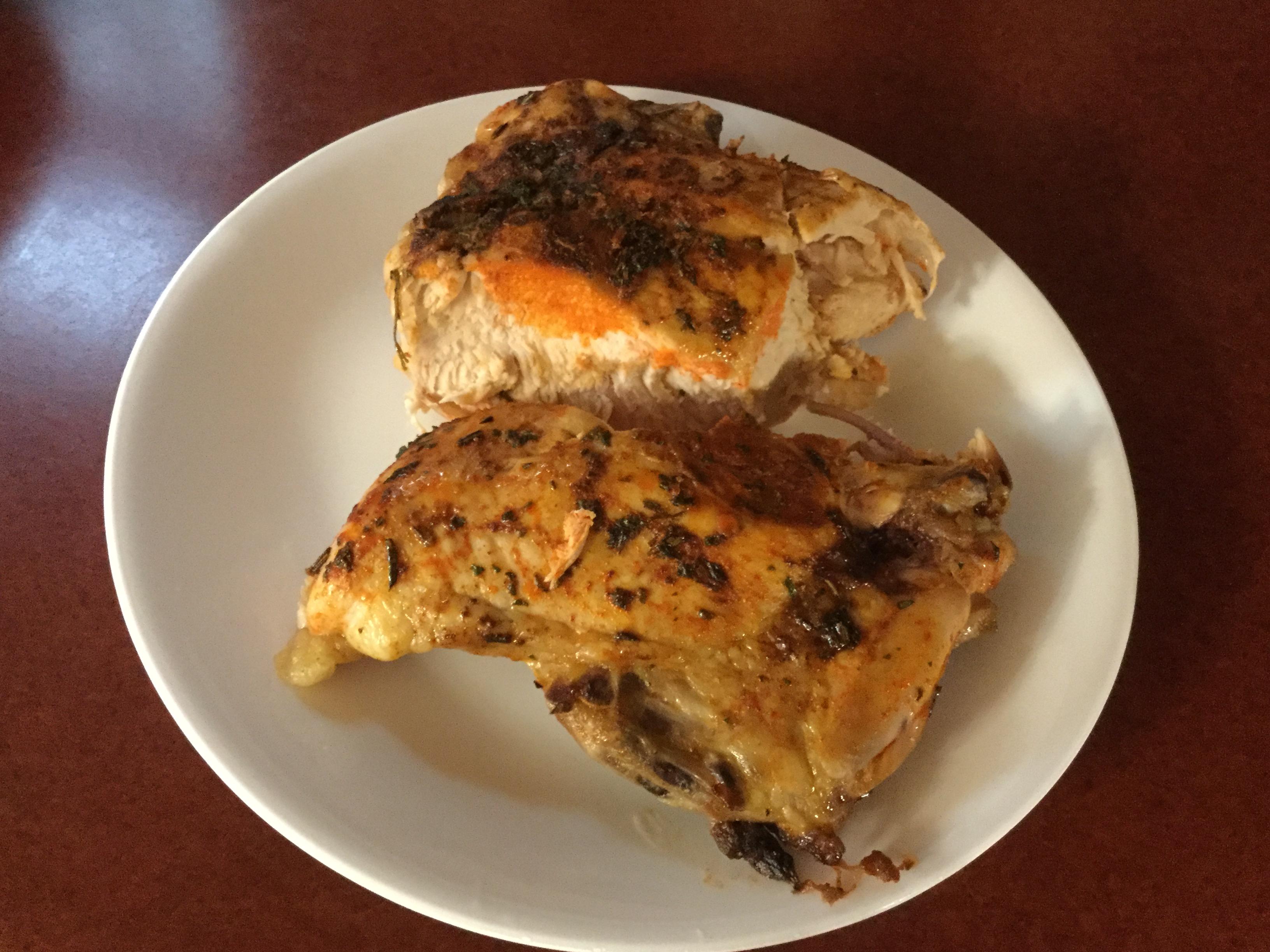 Baked Chicken Schnitzel