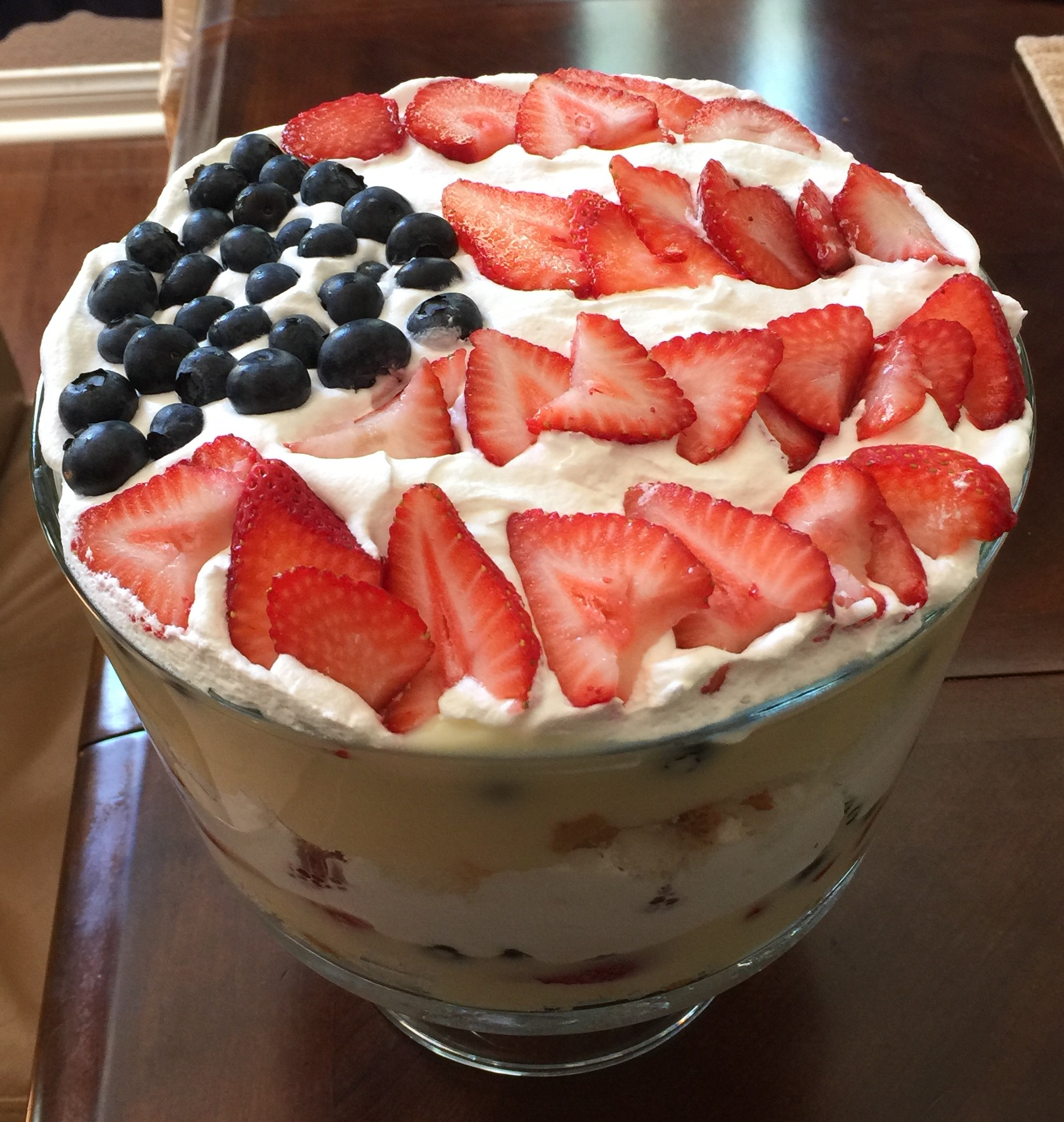 Berry Cheesecake Trifle