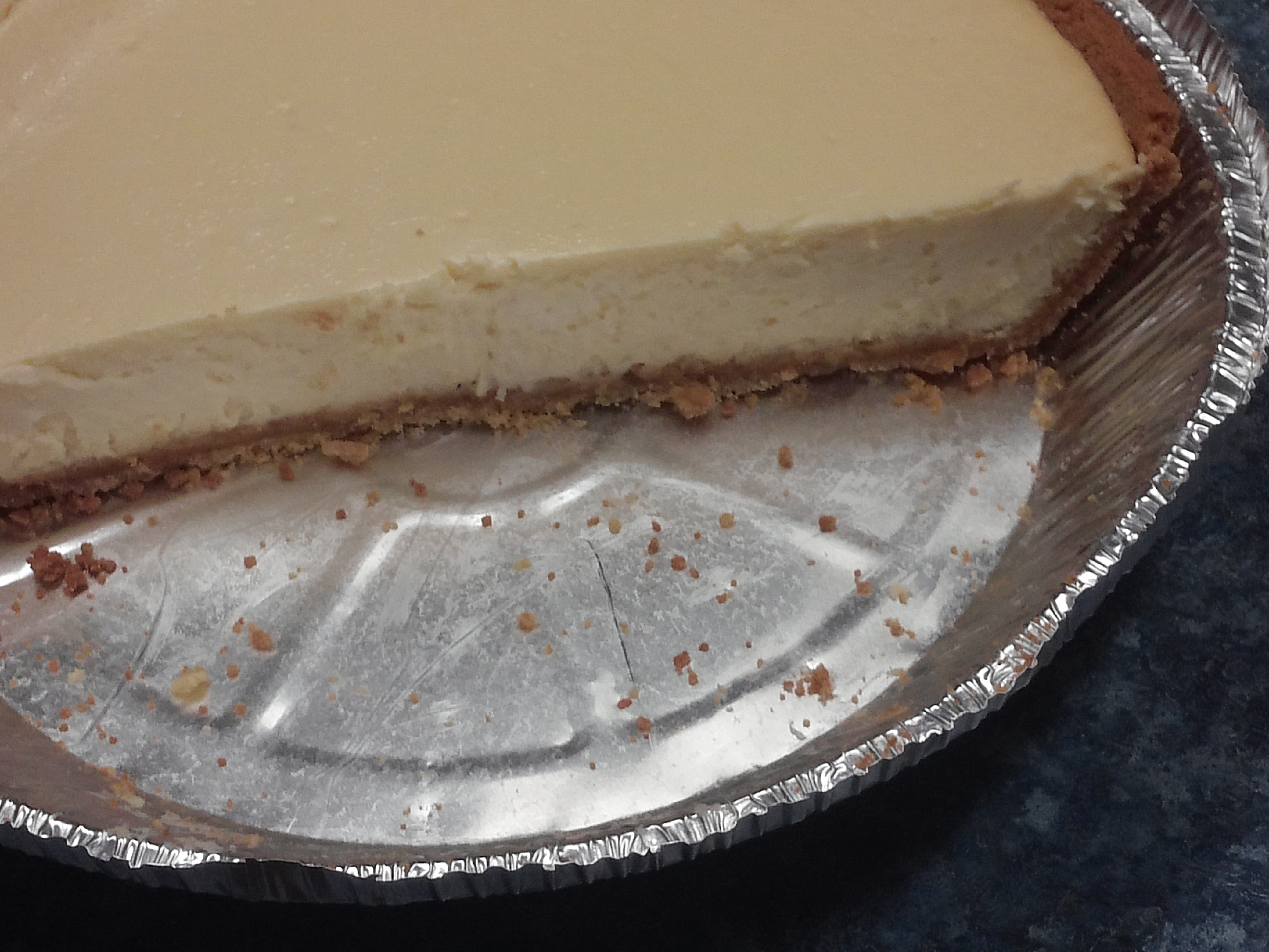 Lemon-Lime Cheesecake with Neufchatel Cheese