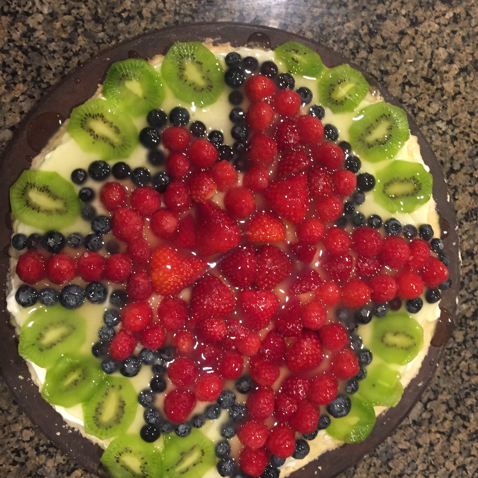 Fruit Pizza Even Better Sarah Countrymama5