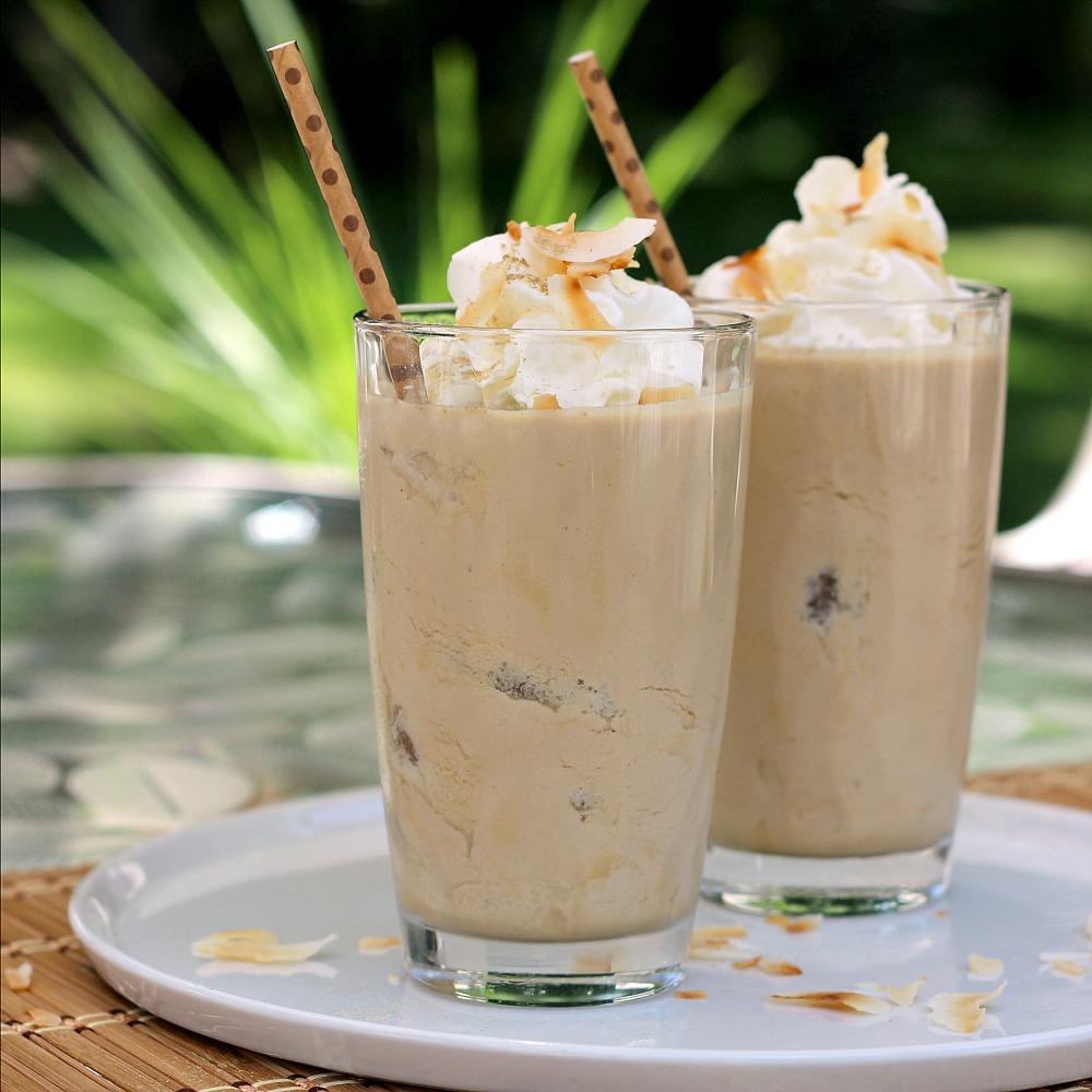 Coconut Cardamom Iced Coffee ReneePaj
