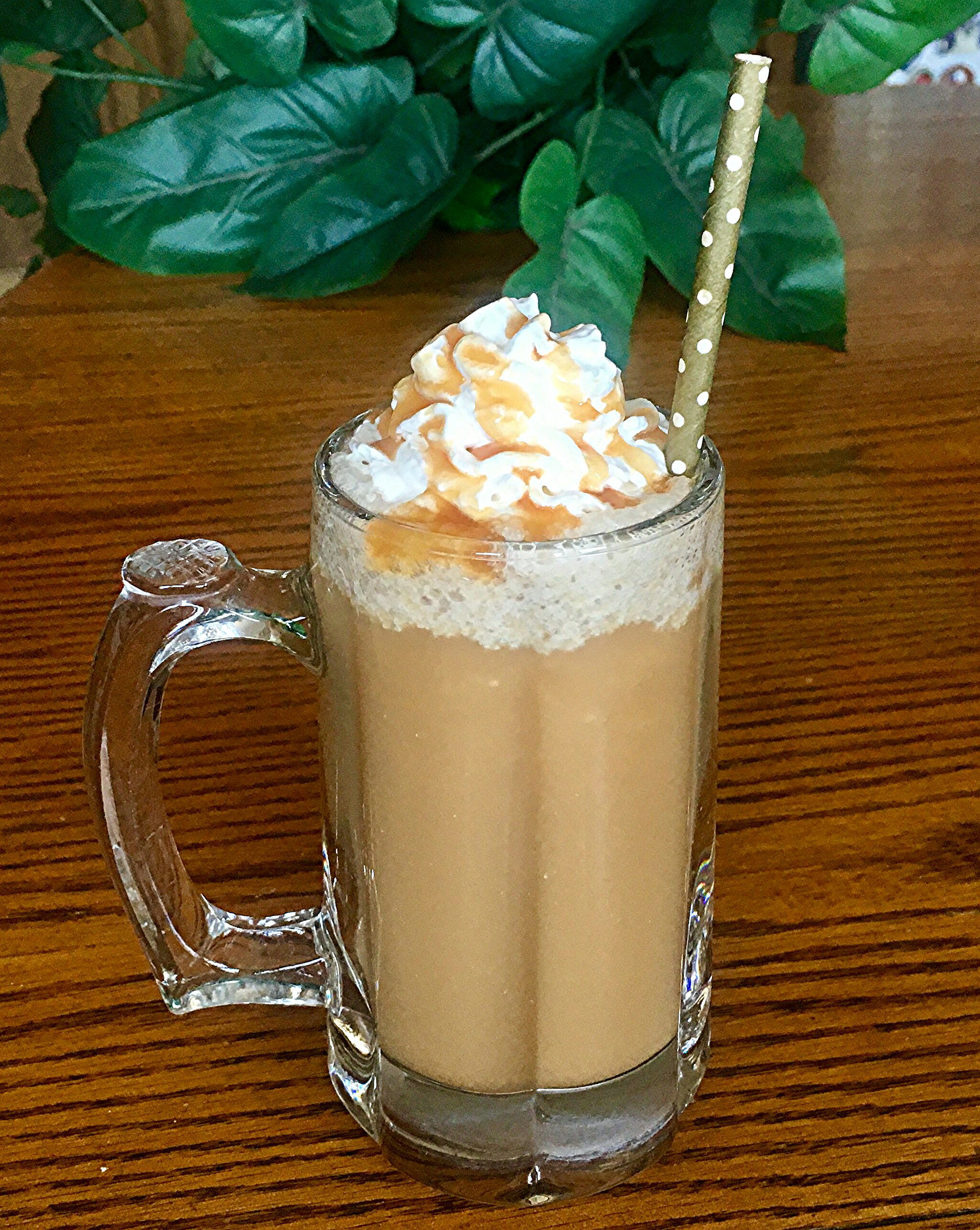 Frozen Caramel Coffee Yoly