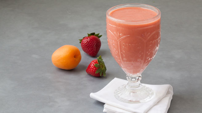Apricot-Strawberry Smoothie Trusted Brands
