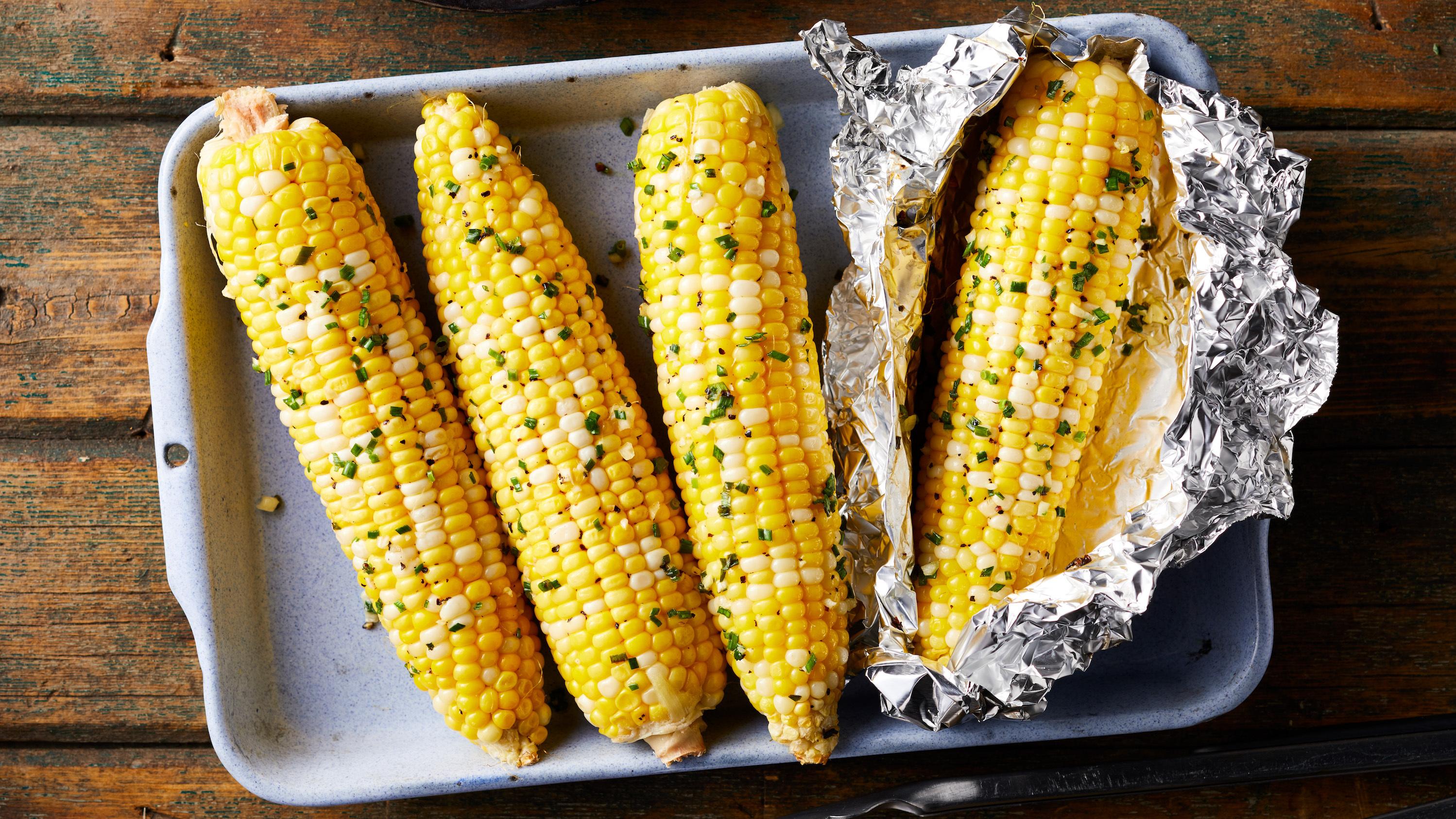 Garlic Butter Campfire Corn Trusted Brands