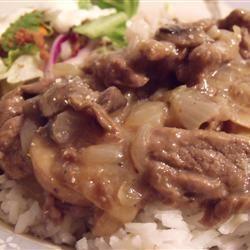 Simply Elegant Steak and Rice Squeaky