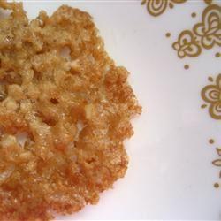 Butterscotch Lace Cookies RentheFabulousBaker
