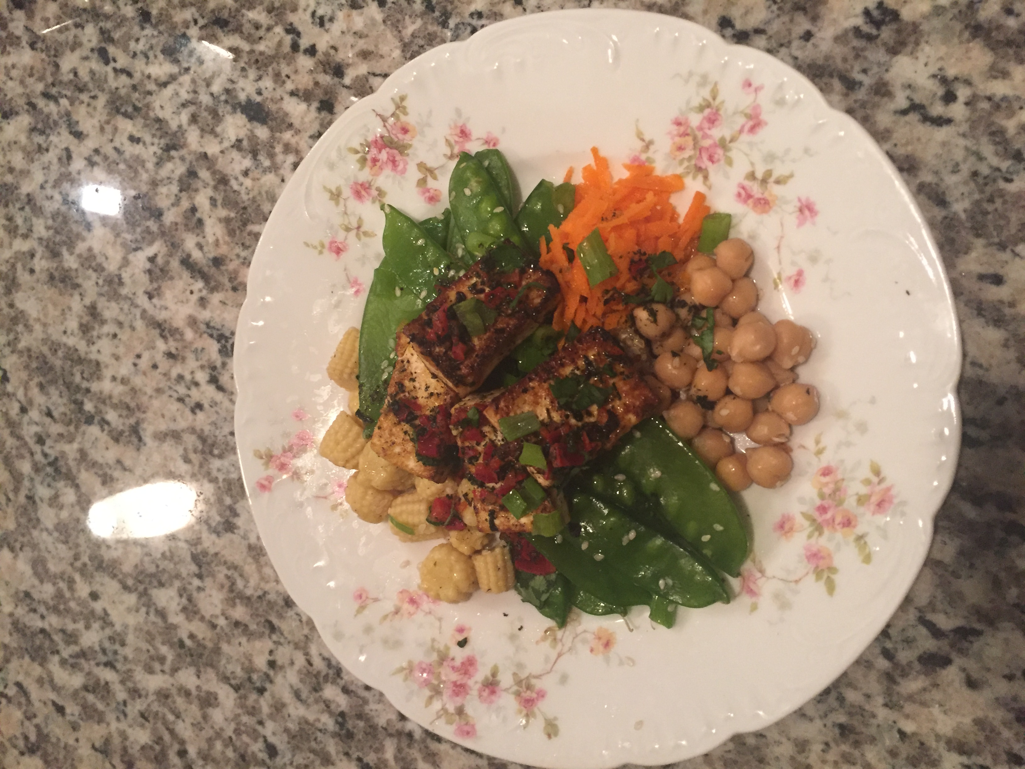 Brown Rice Buddha Bowl MandieApple