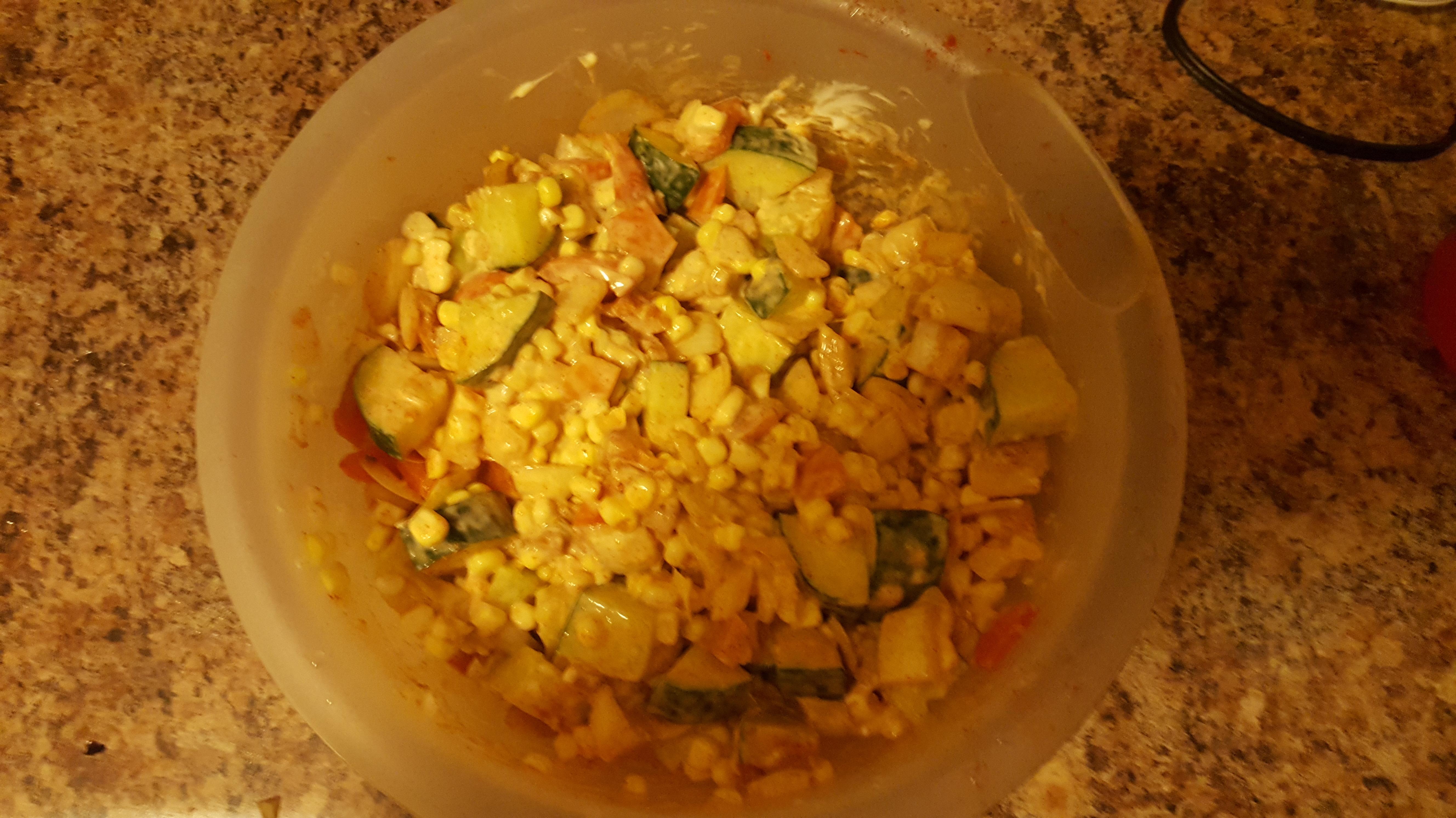 Cold Corn Salad Eileen Patterson