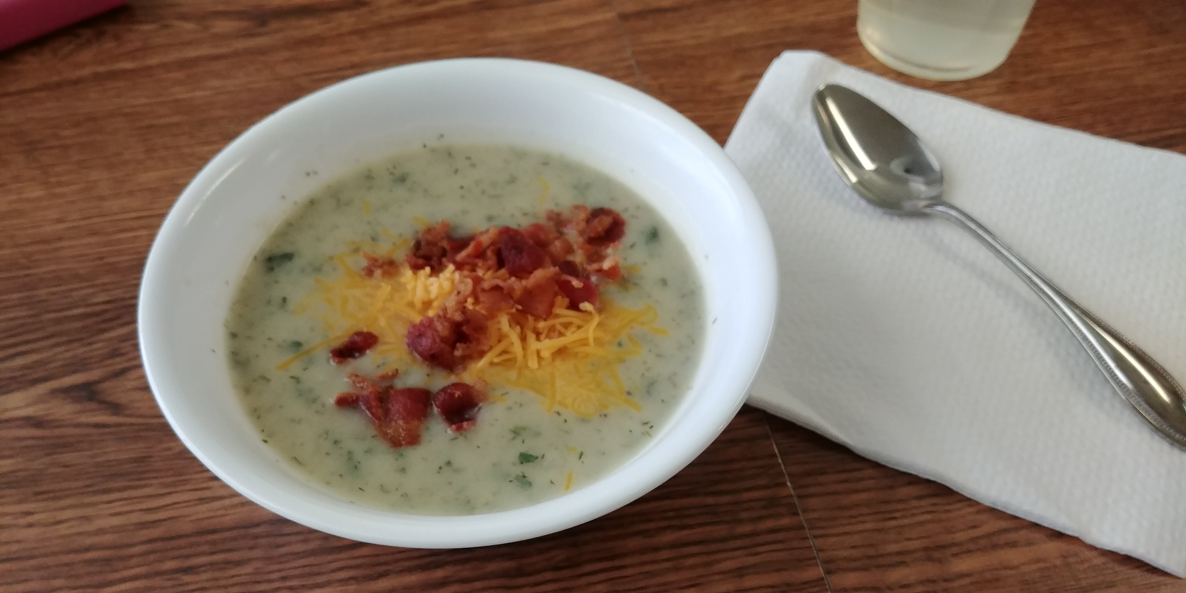 Very Easy Potato Bacon Soup image