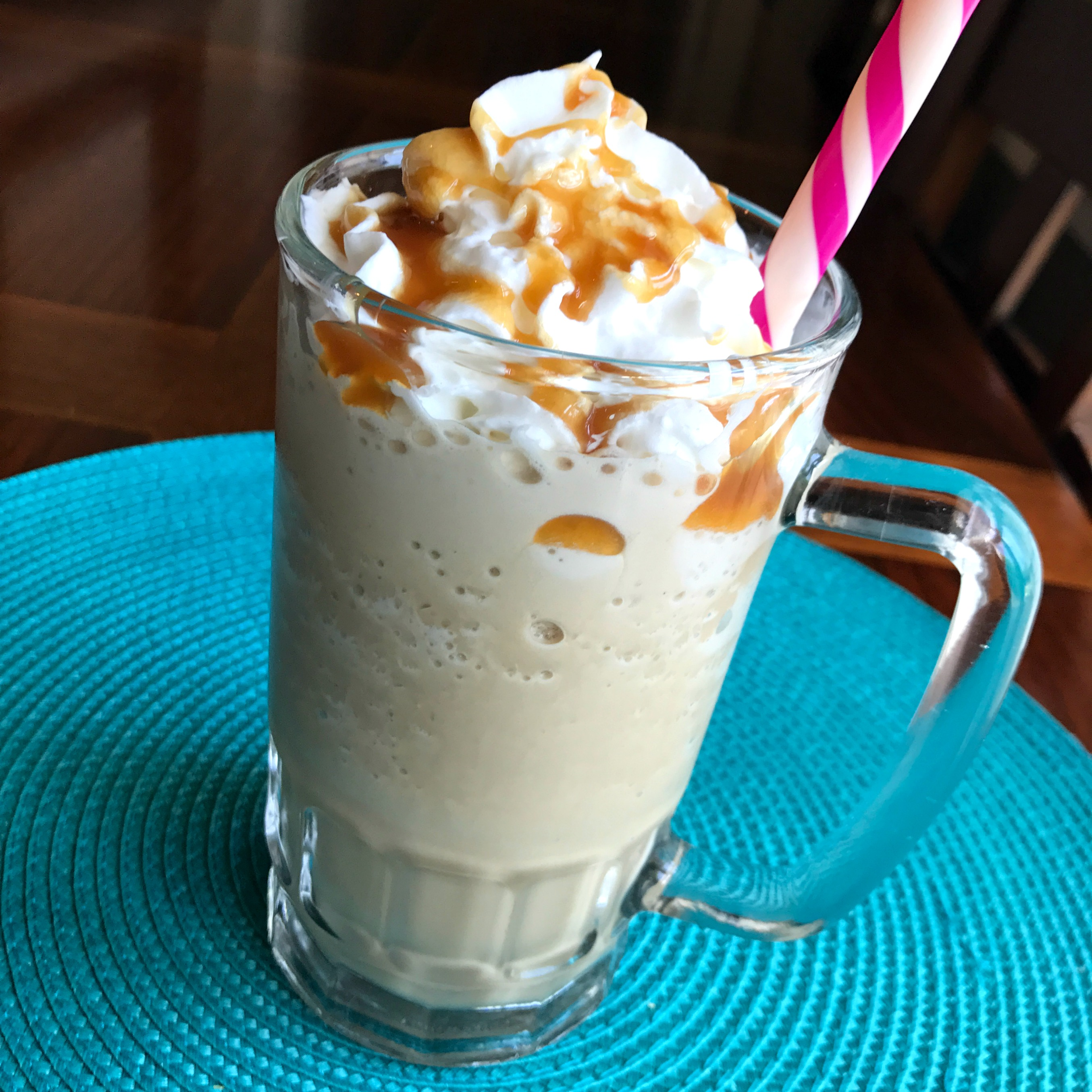 Frozen Caramel Coffee Happyschmoopies