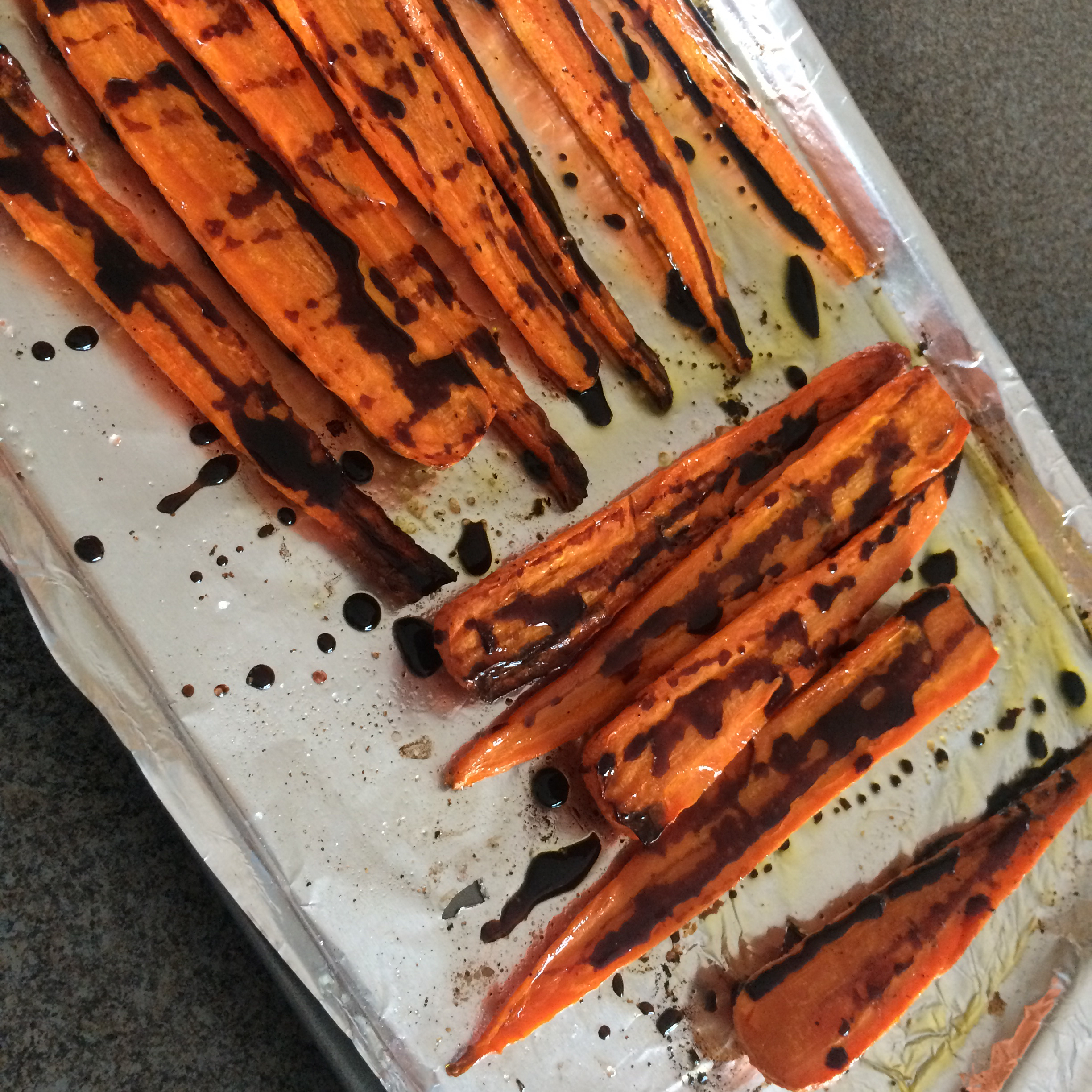Balsamic Roasted Carrots