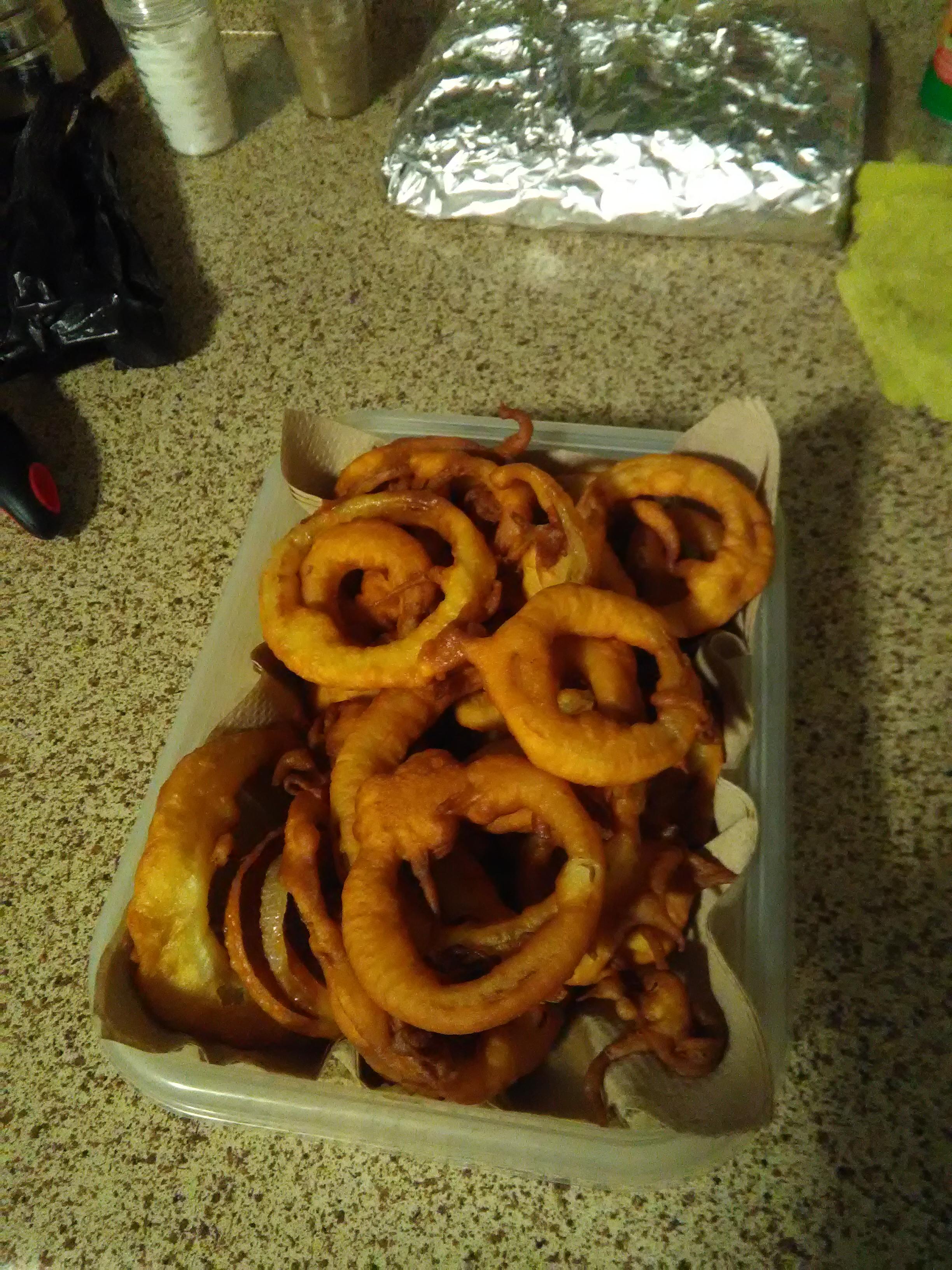 Fantastic Onion Ring Batter