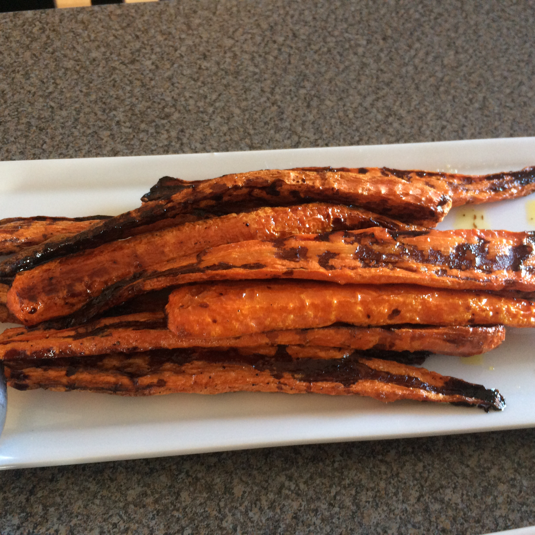 Balsamic Roasted Carrots Alice Foster