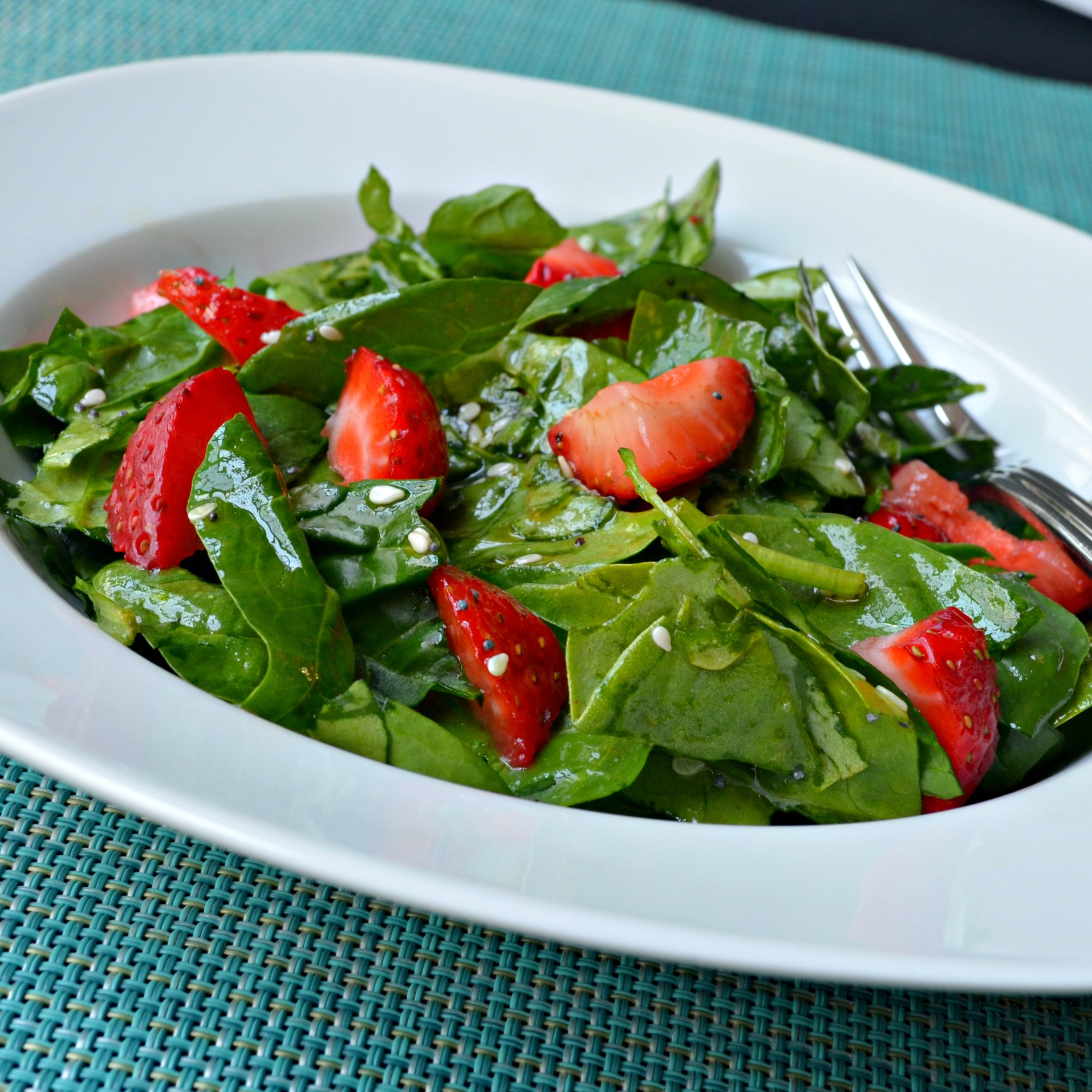 Spinach And Strawberry Salad Recipe Allrecipes
