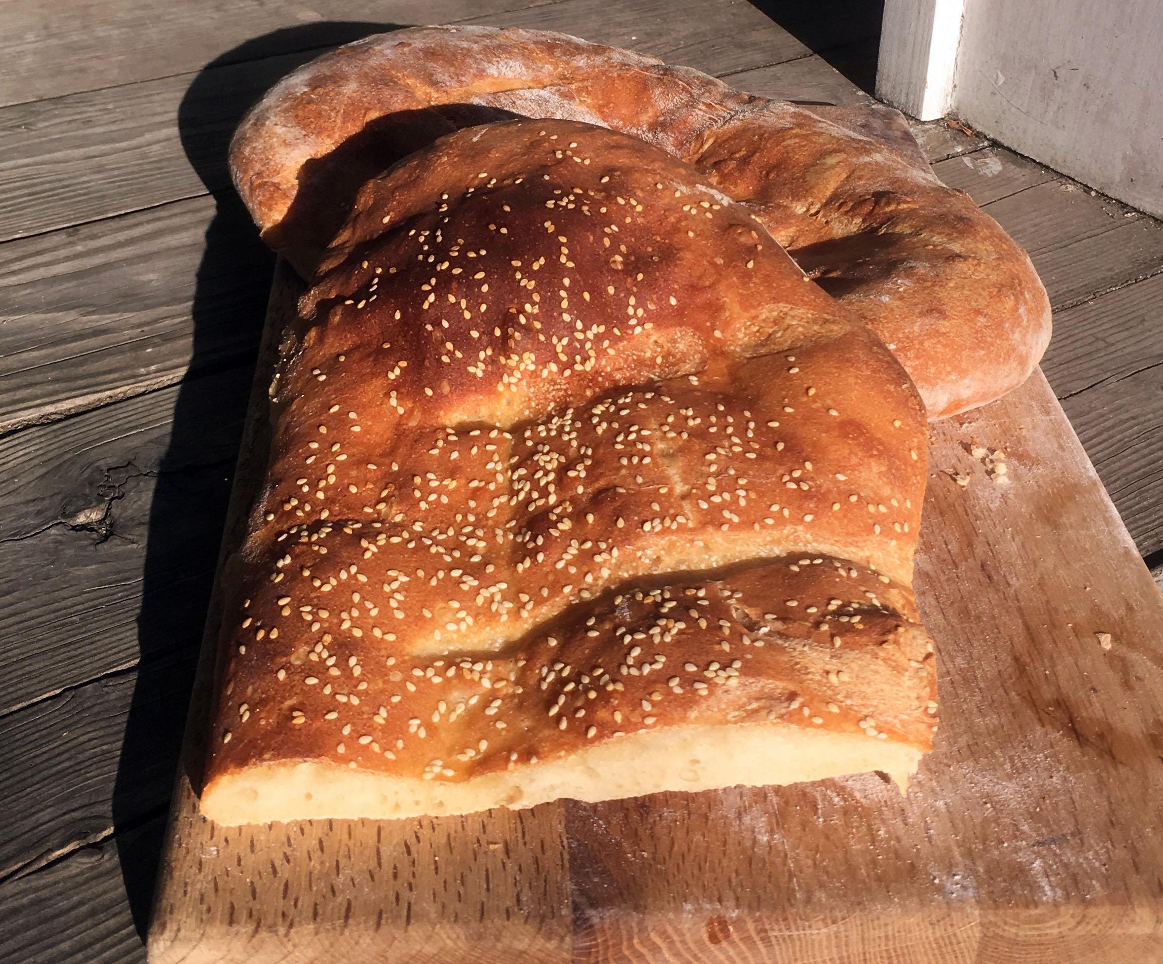 Ekmek Turkish Bread Gremolata