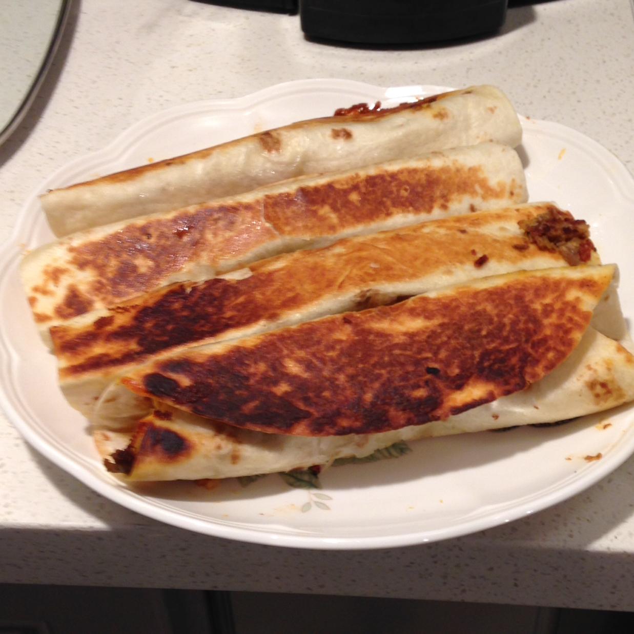 Easy Mexican Pork Burritos Jdtycoon