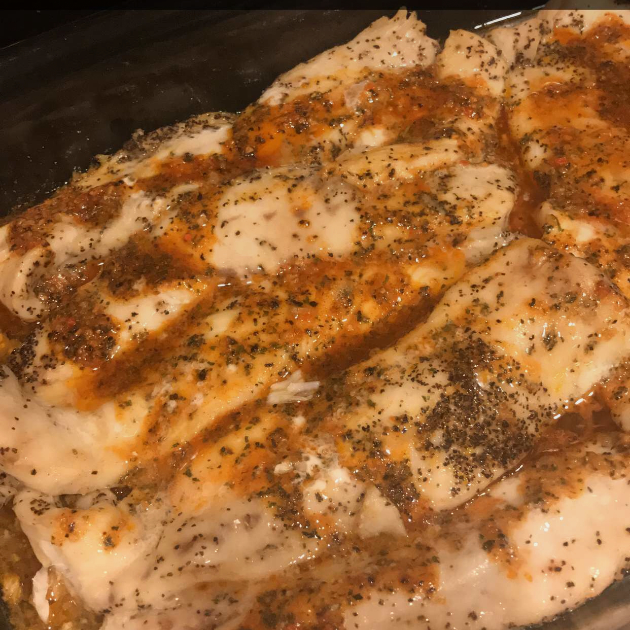 Baked Fish Fillets Thao Le