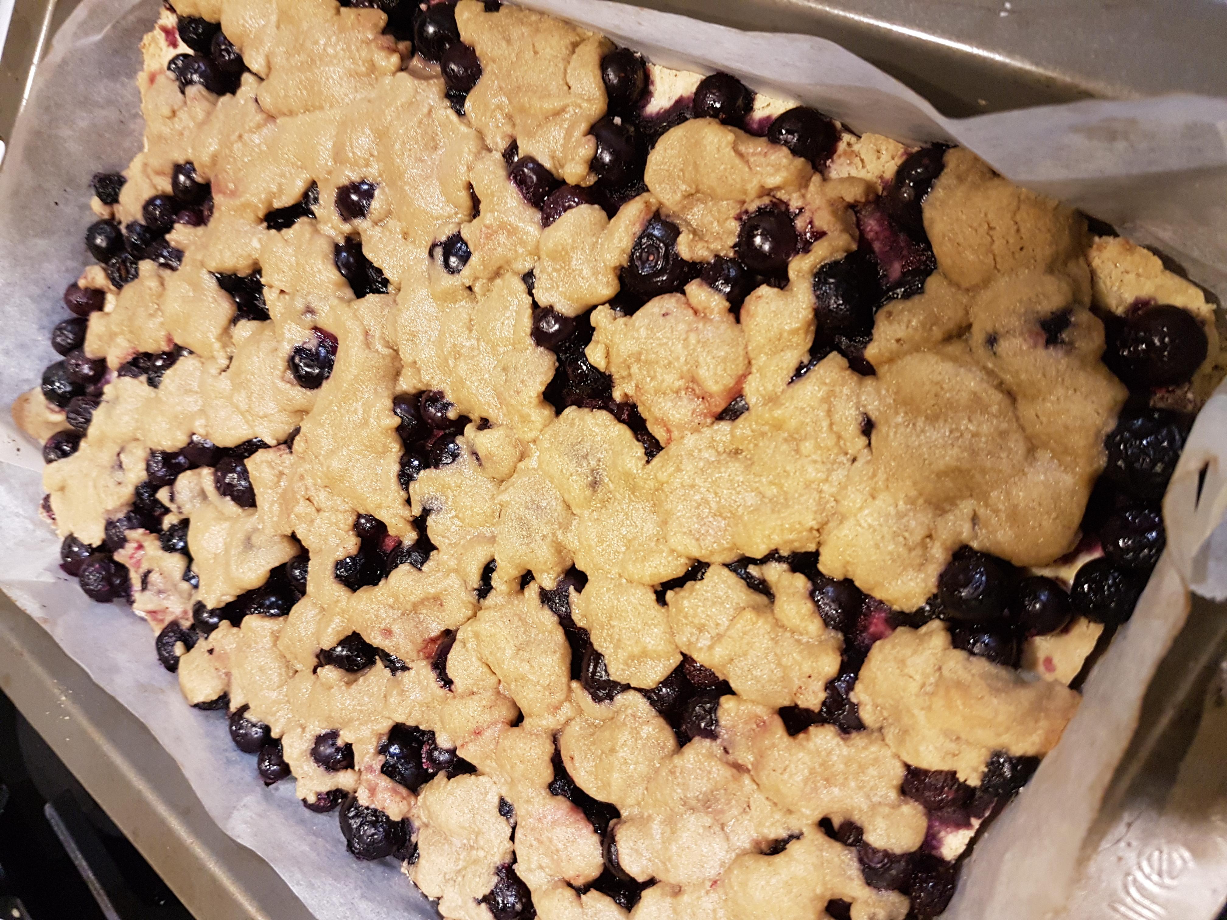 Blueberry-Lemon Crumb Bars
