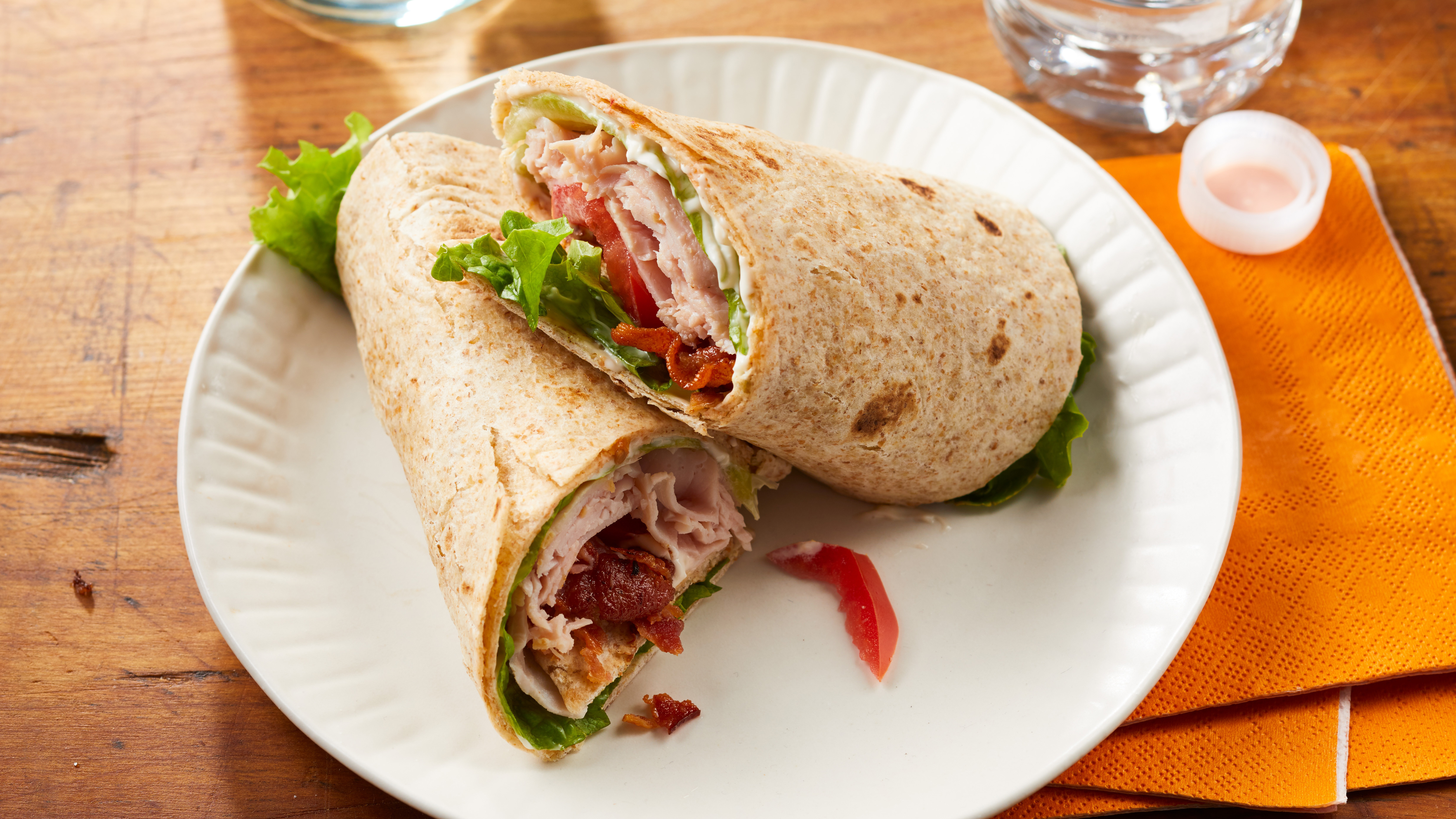 Turkey BLT Wraps Trusted Brands