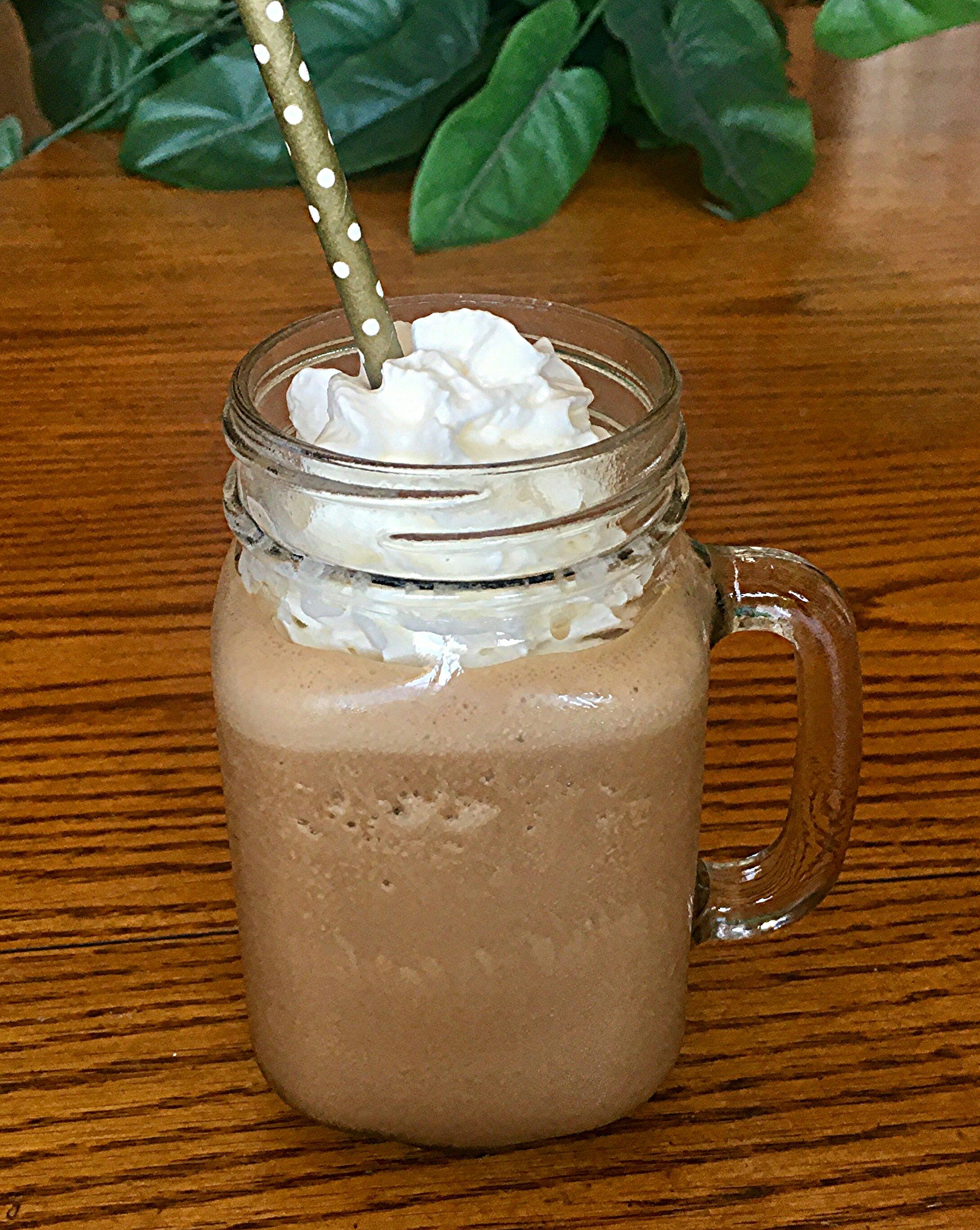 Chocolate Peanut Butter Iced Coffee Yoly