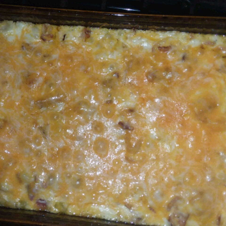Twice Baked Potato Casserole With Bacon Katrina Harless