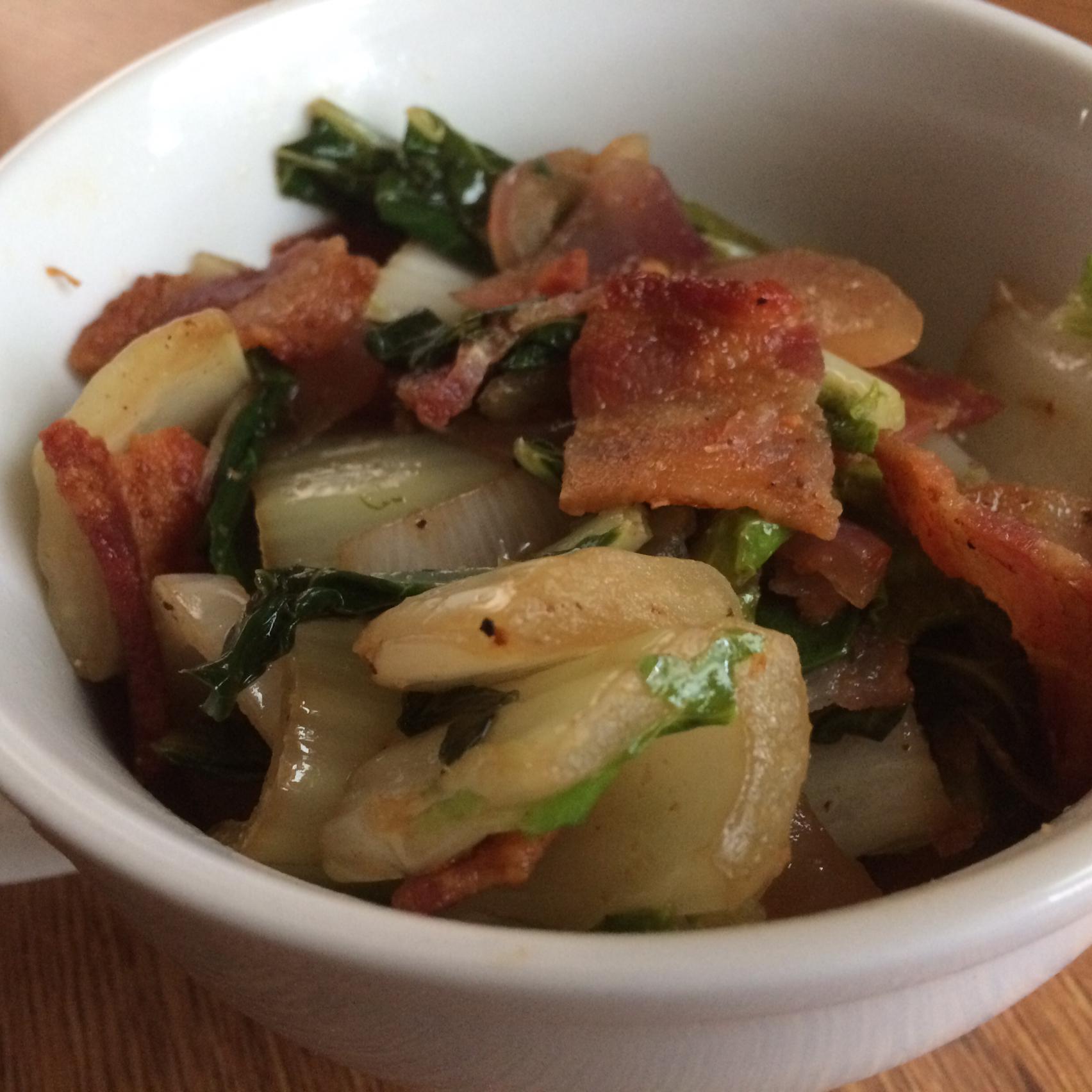Bacon-y Bok Choy Trisha