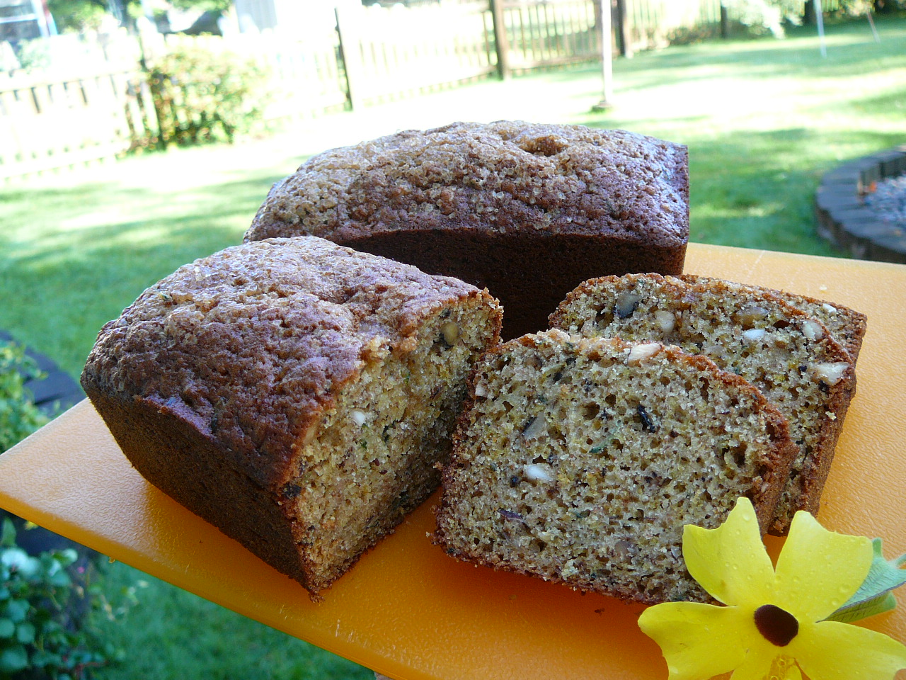 Maple Zucchini Bread Molly