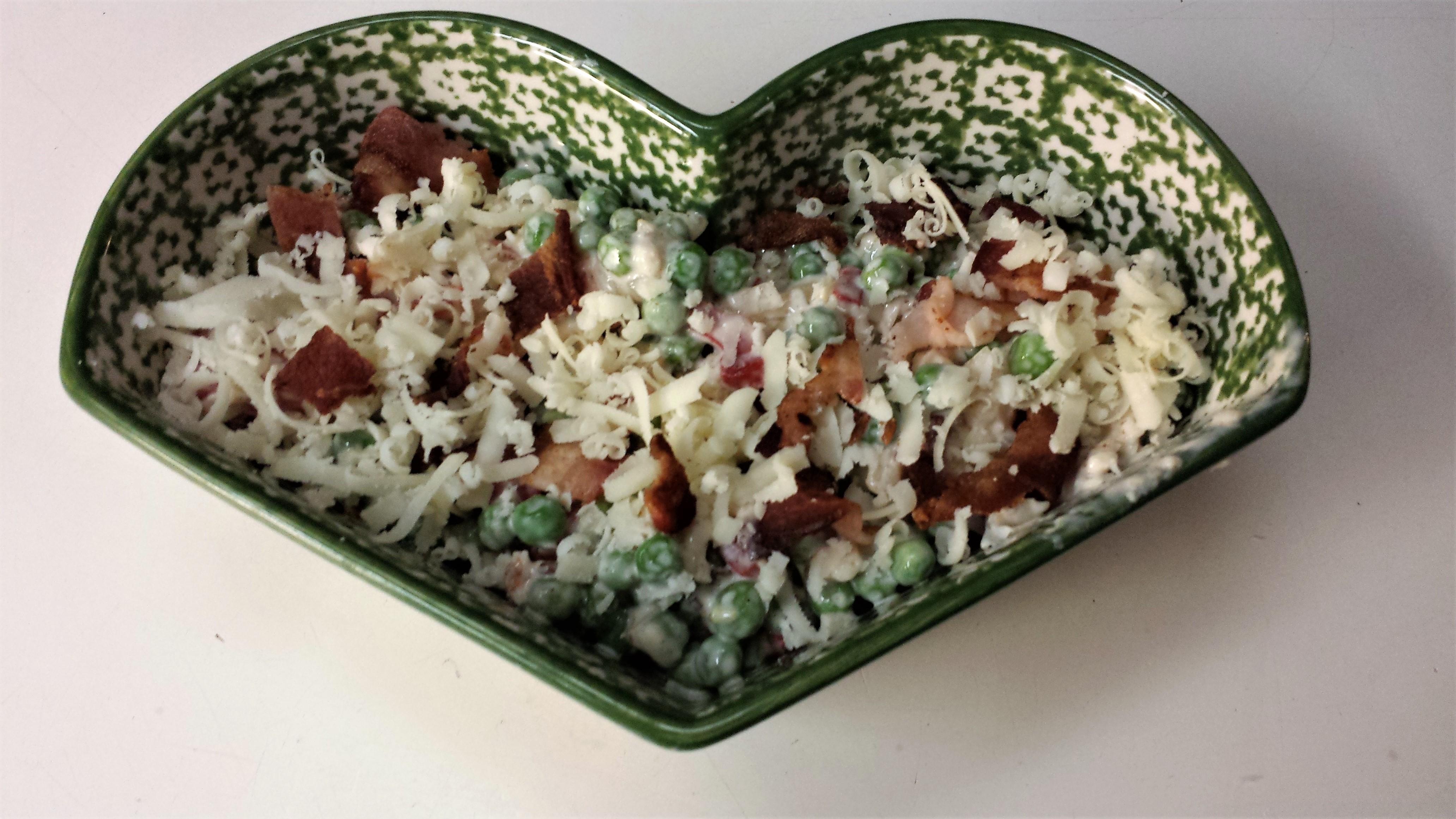 Bacon Ranch Pea Salad James