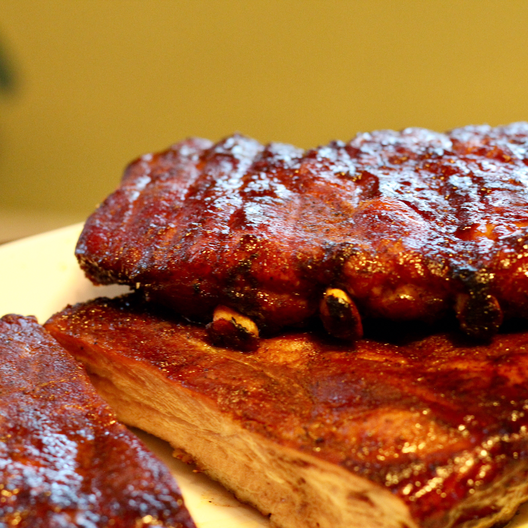Sweet Smoked Pork Ribs Kevin Tolentino