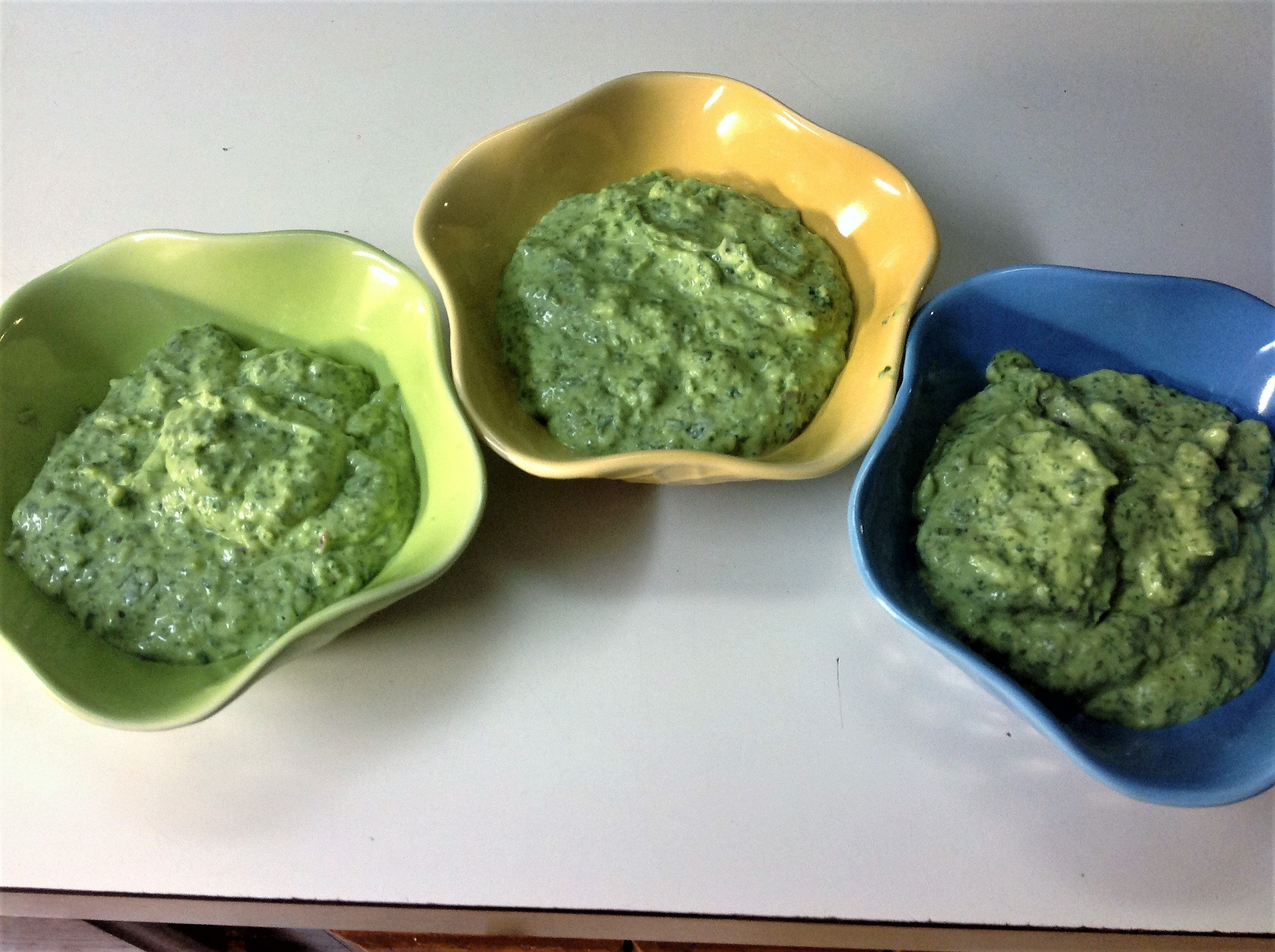 Avocado-Spinach Dip James