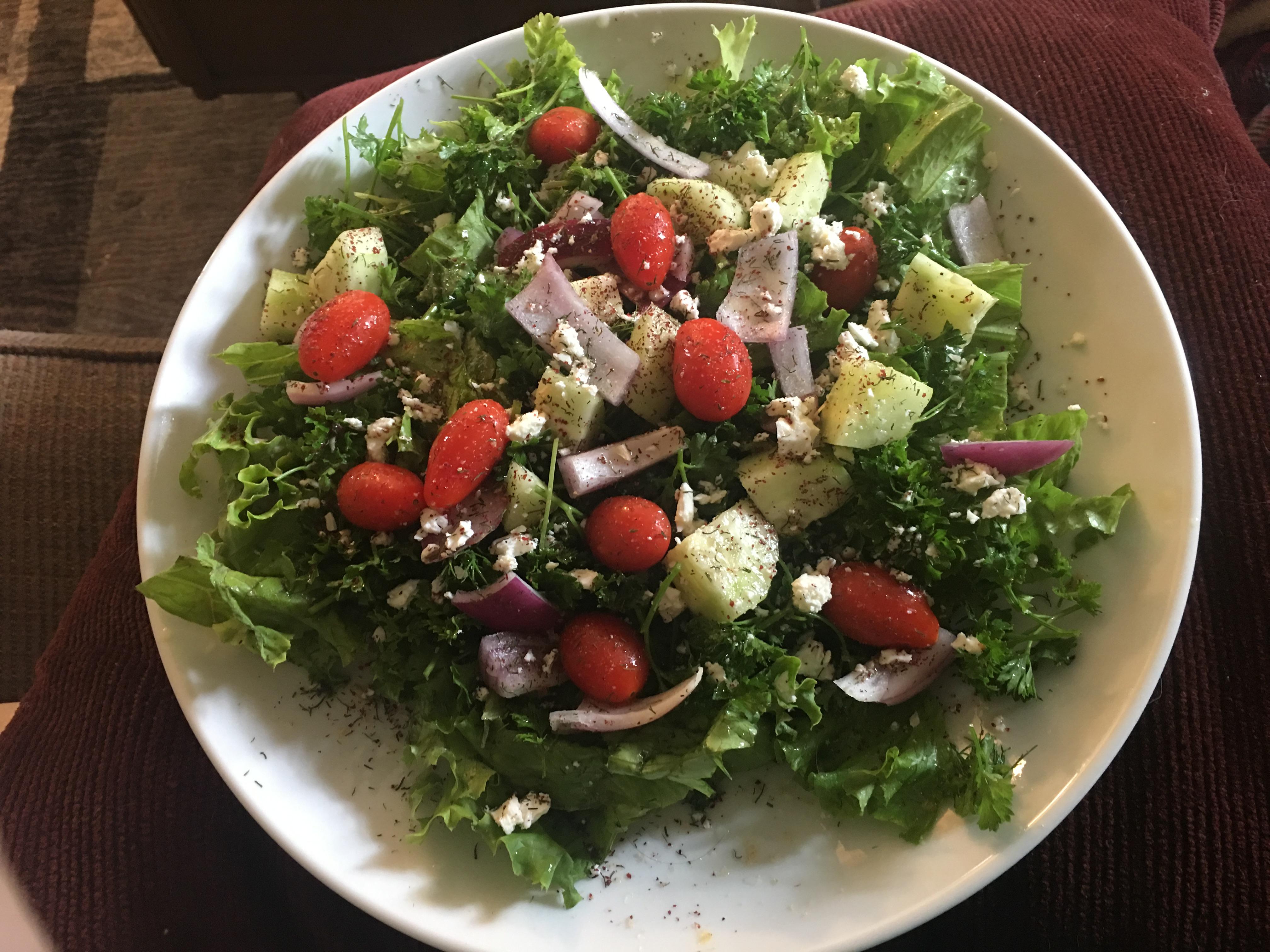 Arabic Fattoush Salad lmaacki