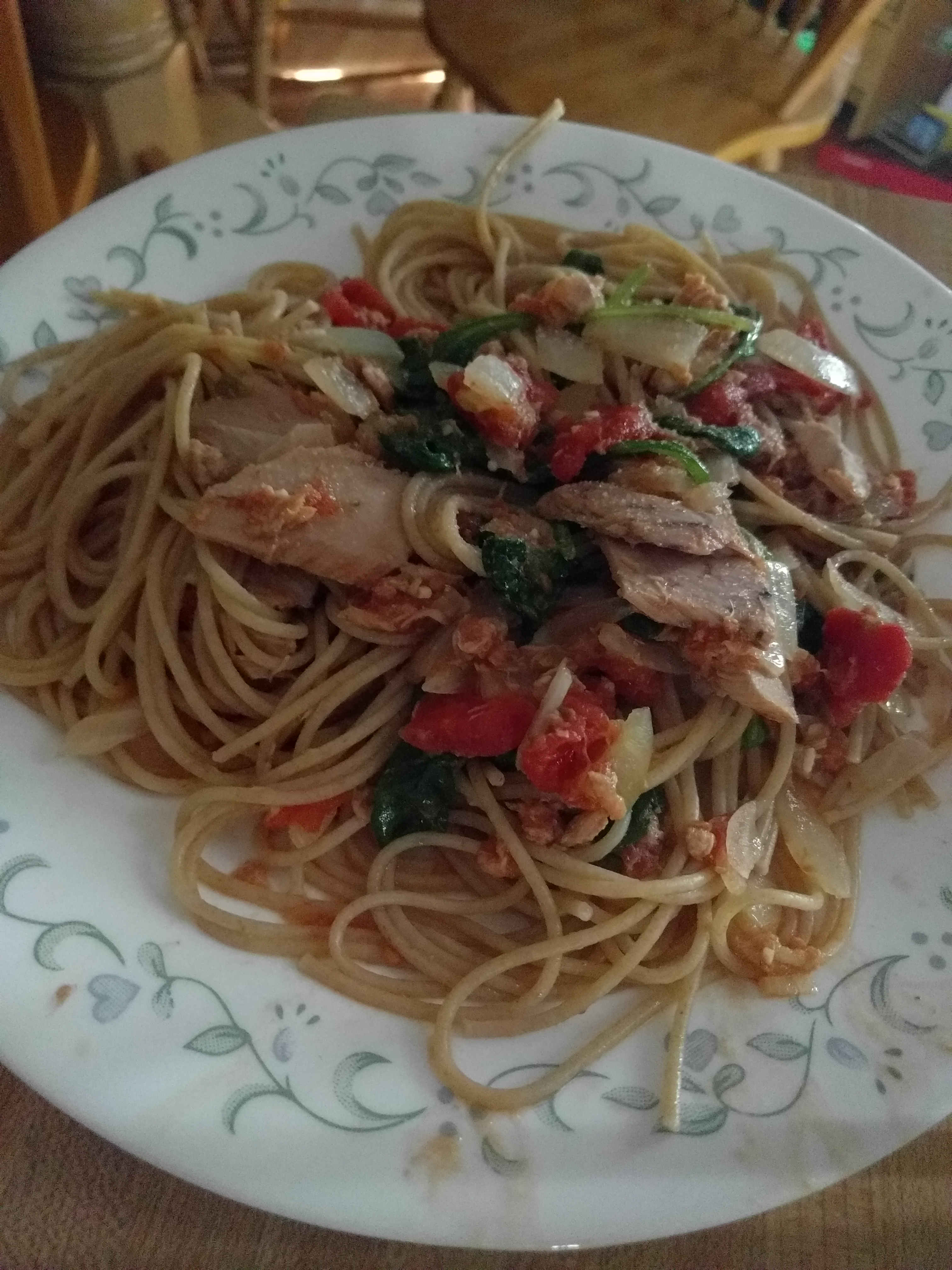 Pasta With Tuna Sauce Bonnie Zink