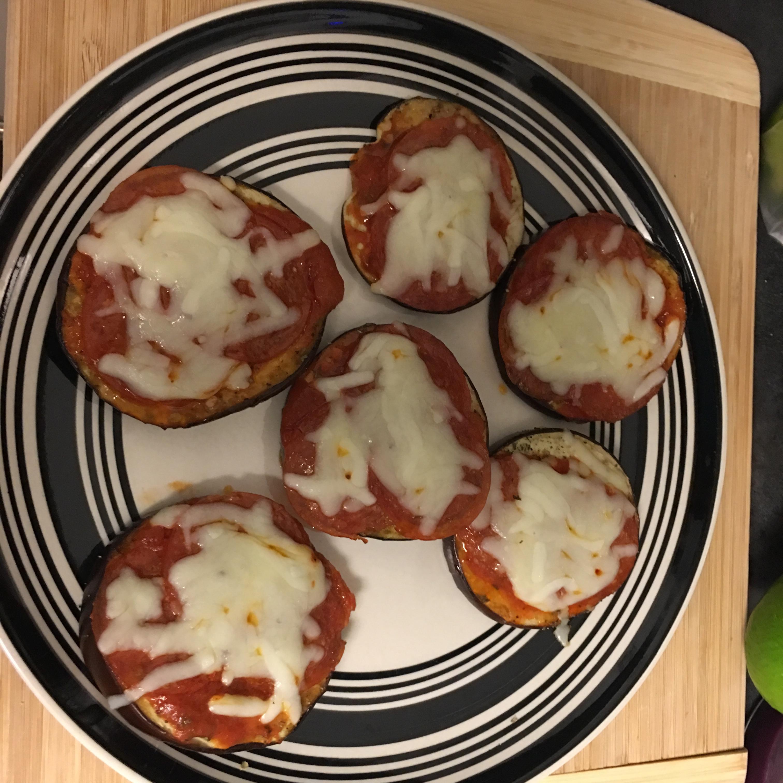 Flourless Eggplant Pizza carmel germinal