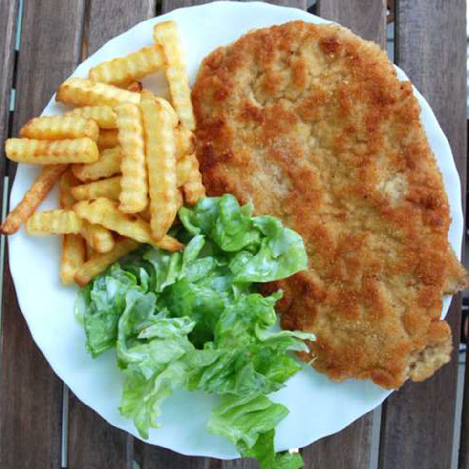 Kotlet Schabowy (Polish Breaded Pork Chop)