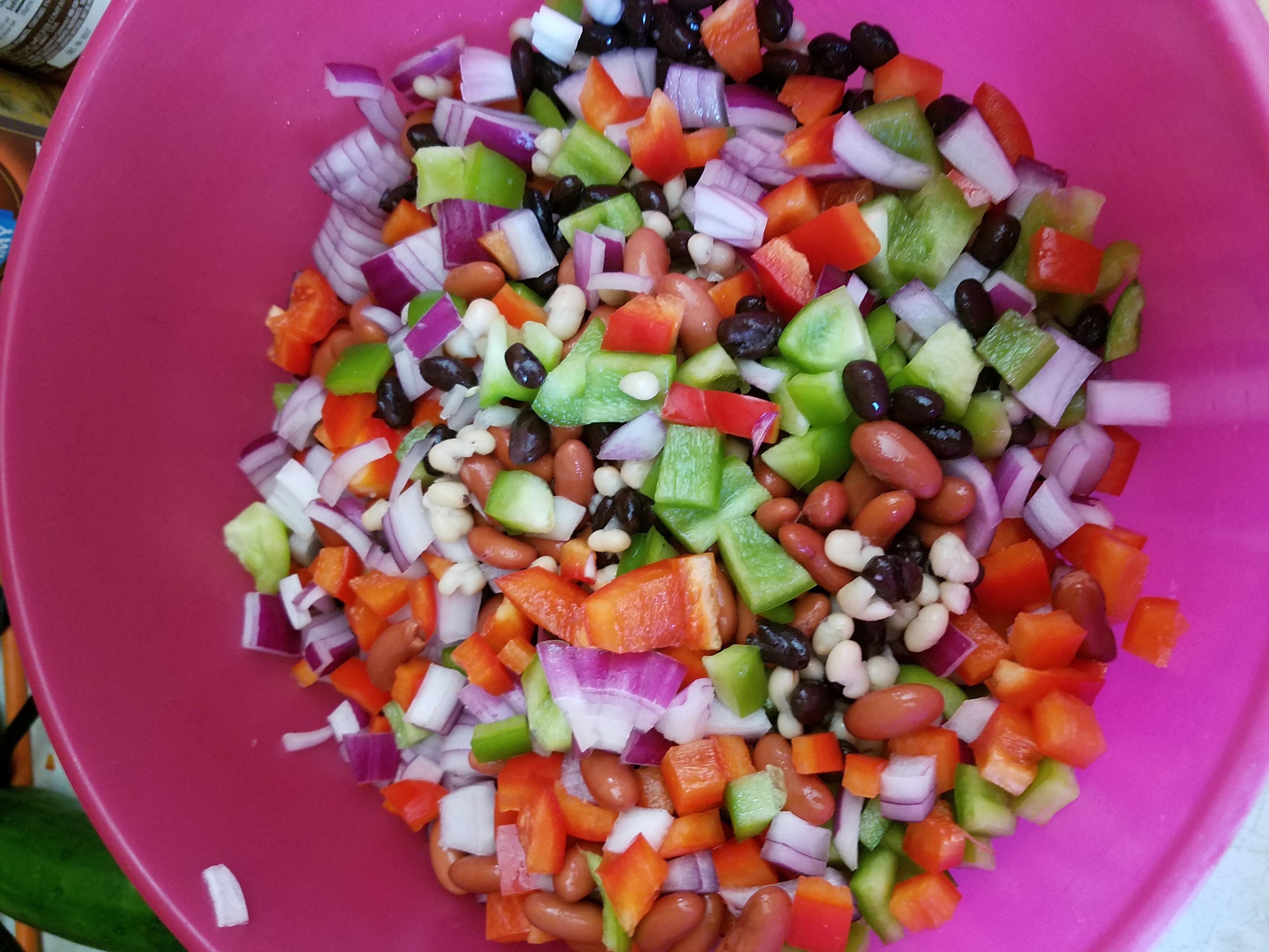 Mexican Bean Salad Cami Krech