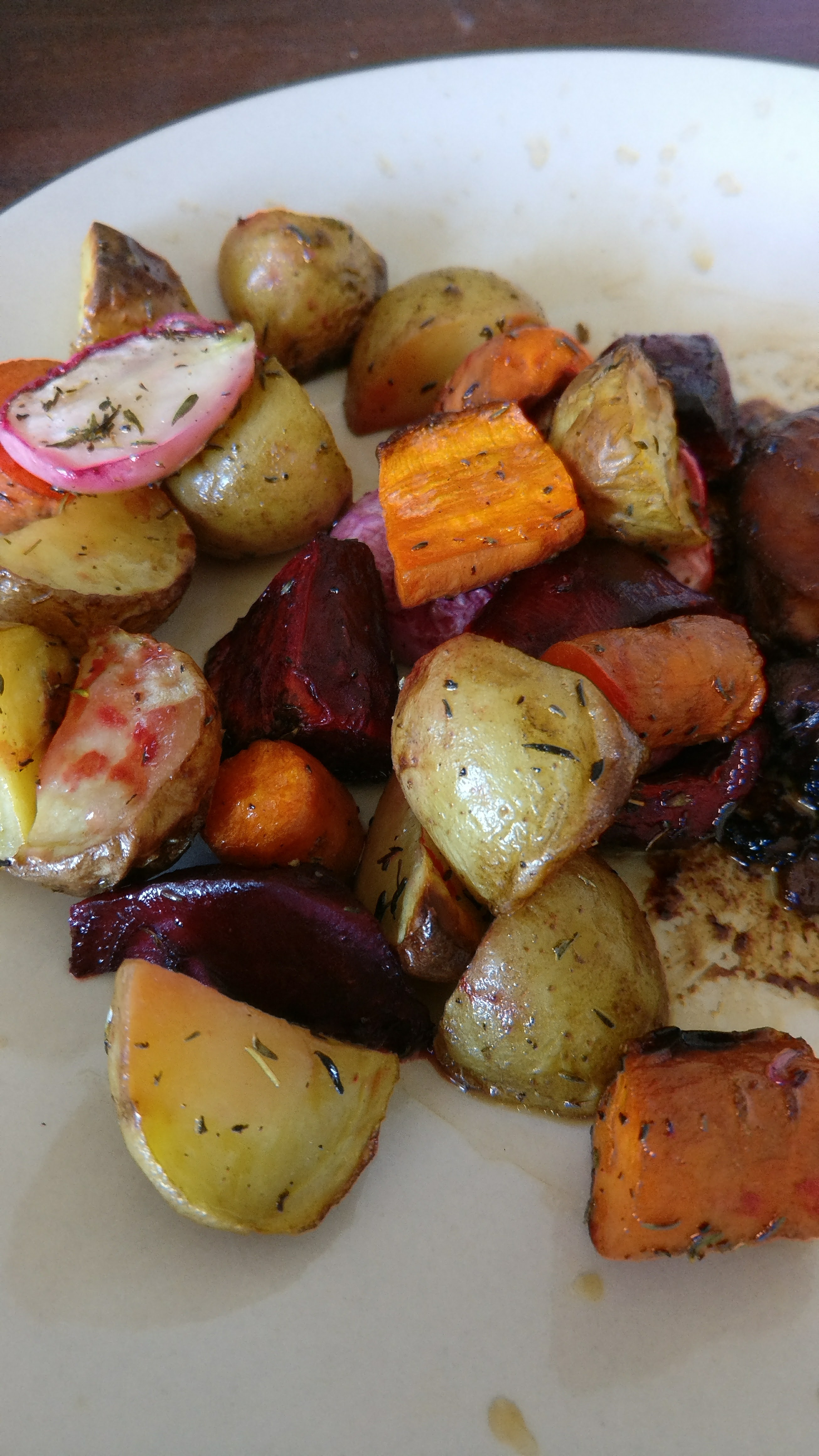 Savory Roasted Root Vegetables Ben