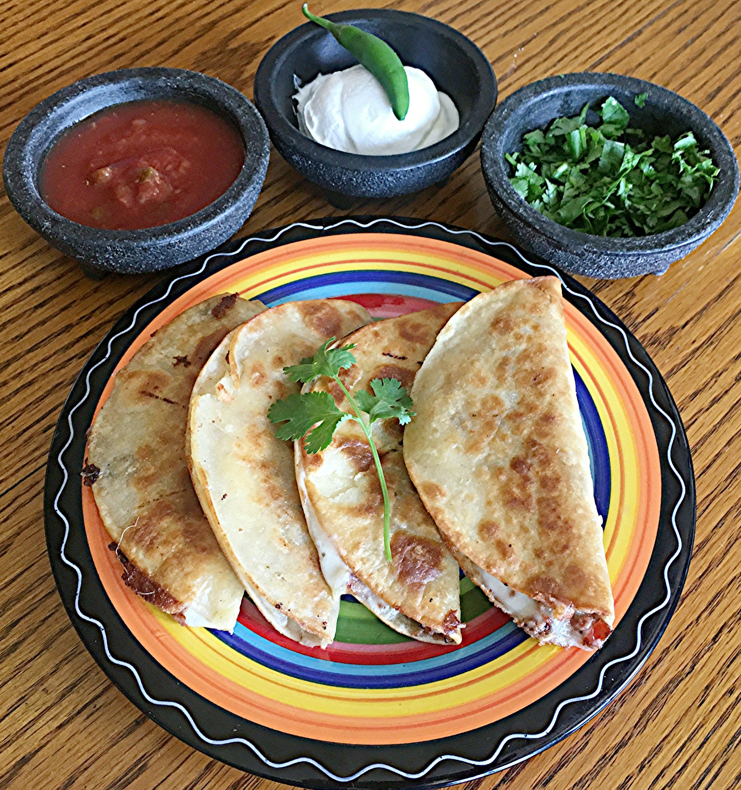 Street-Market Fried Quesadillas Yoly