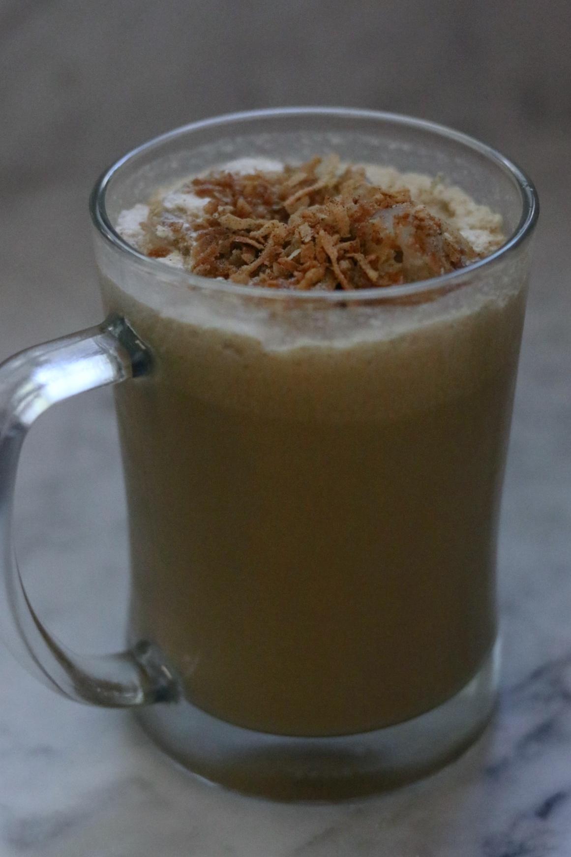 Coconut Cardamom Iced Coffee fabeveryday