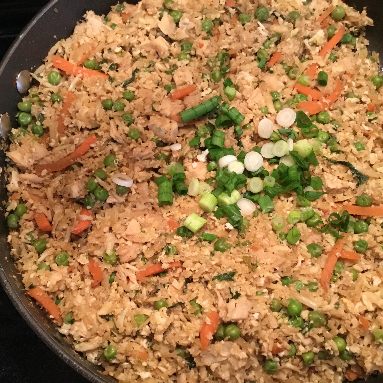 Cauliflower Fried 'Rice' Marksmom