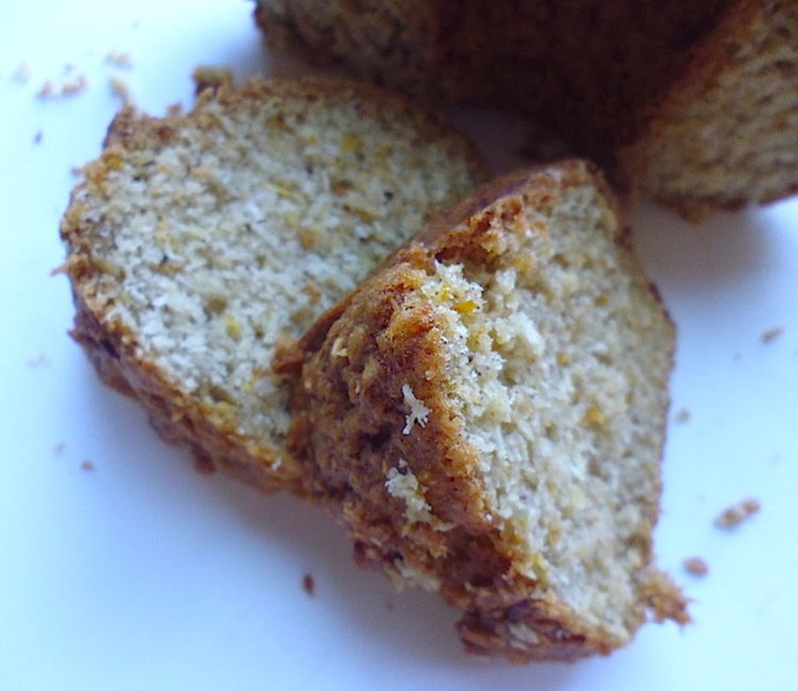 Zucchini Bread with Coconut nch