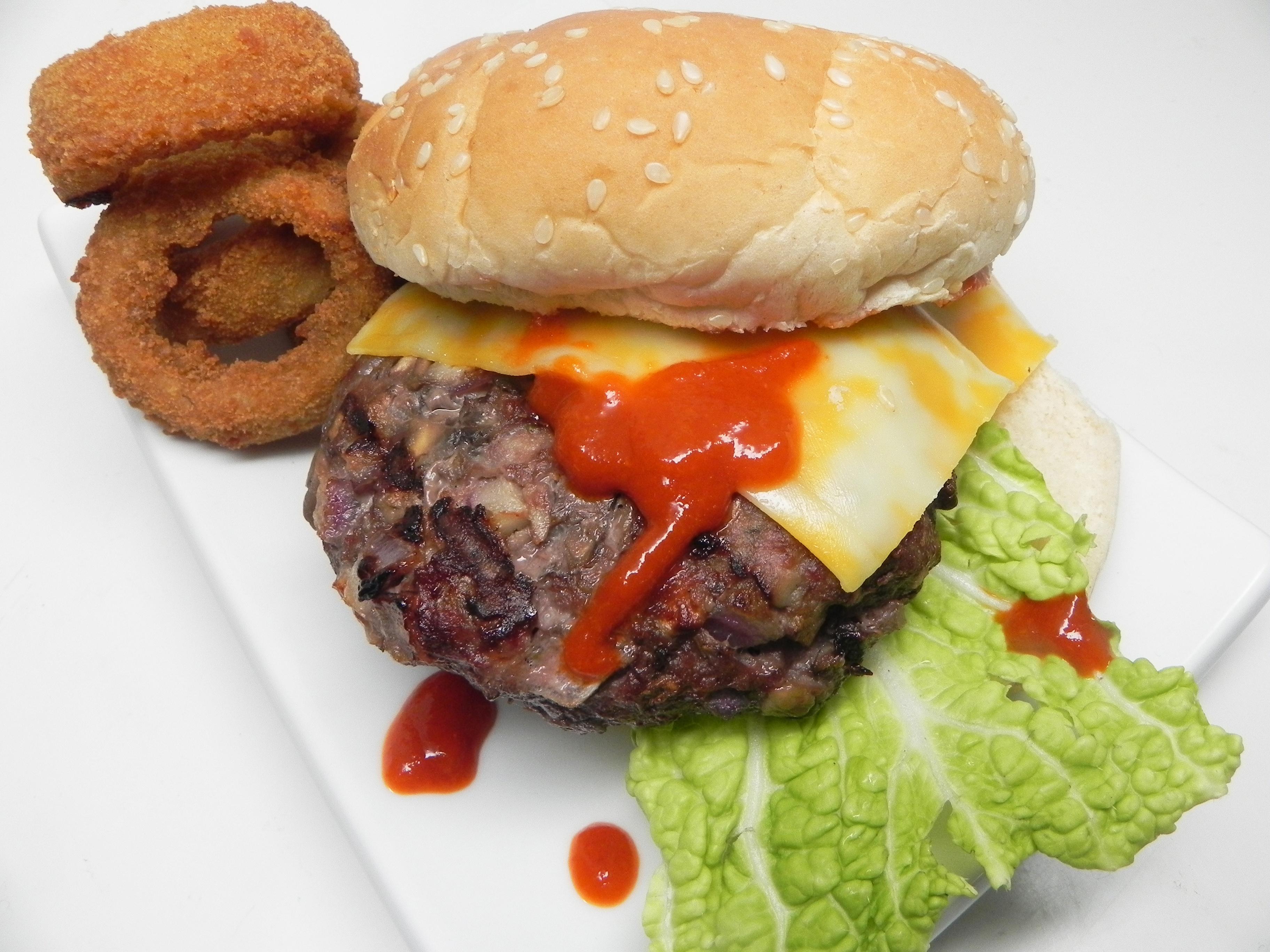 Mushroom Beef Burgers