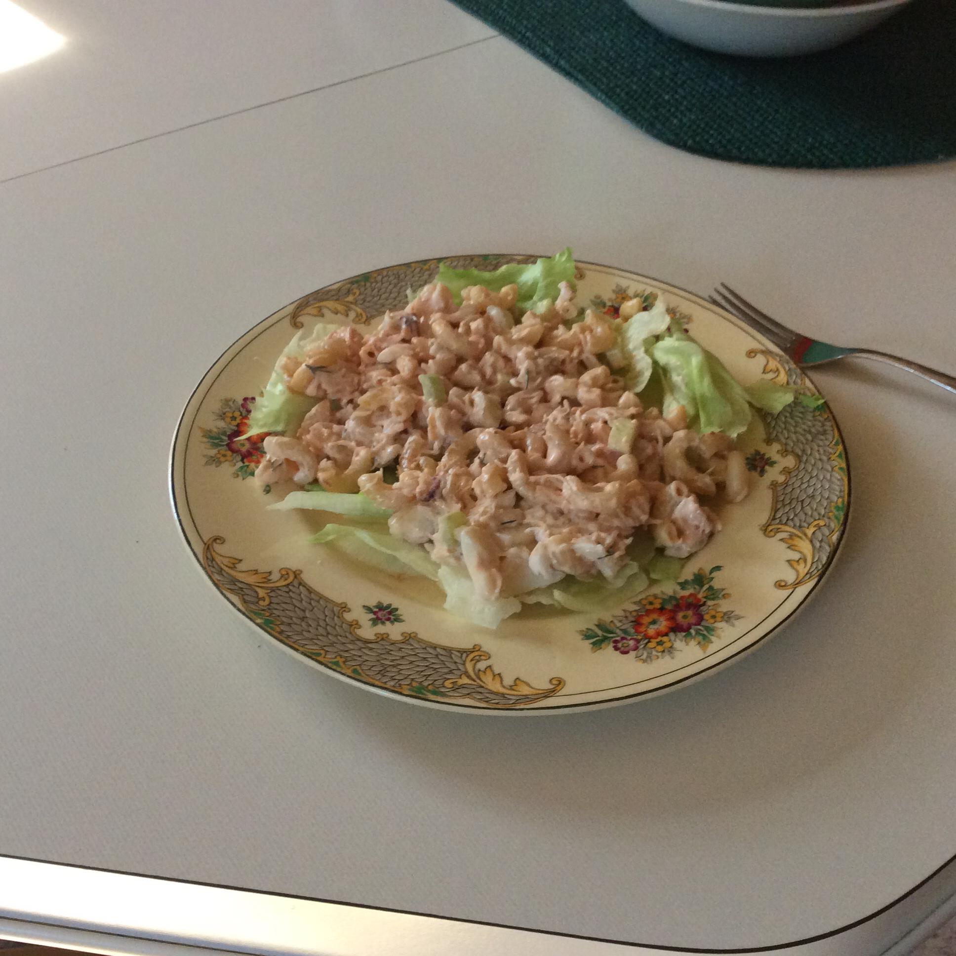 Crab Macaroni Salad Sharon Arnst